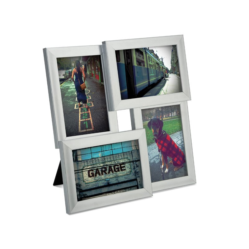 umbra pane four opening collage picture frame
