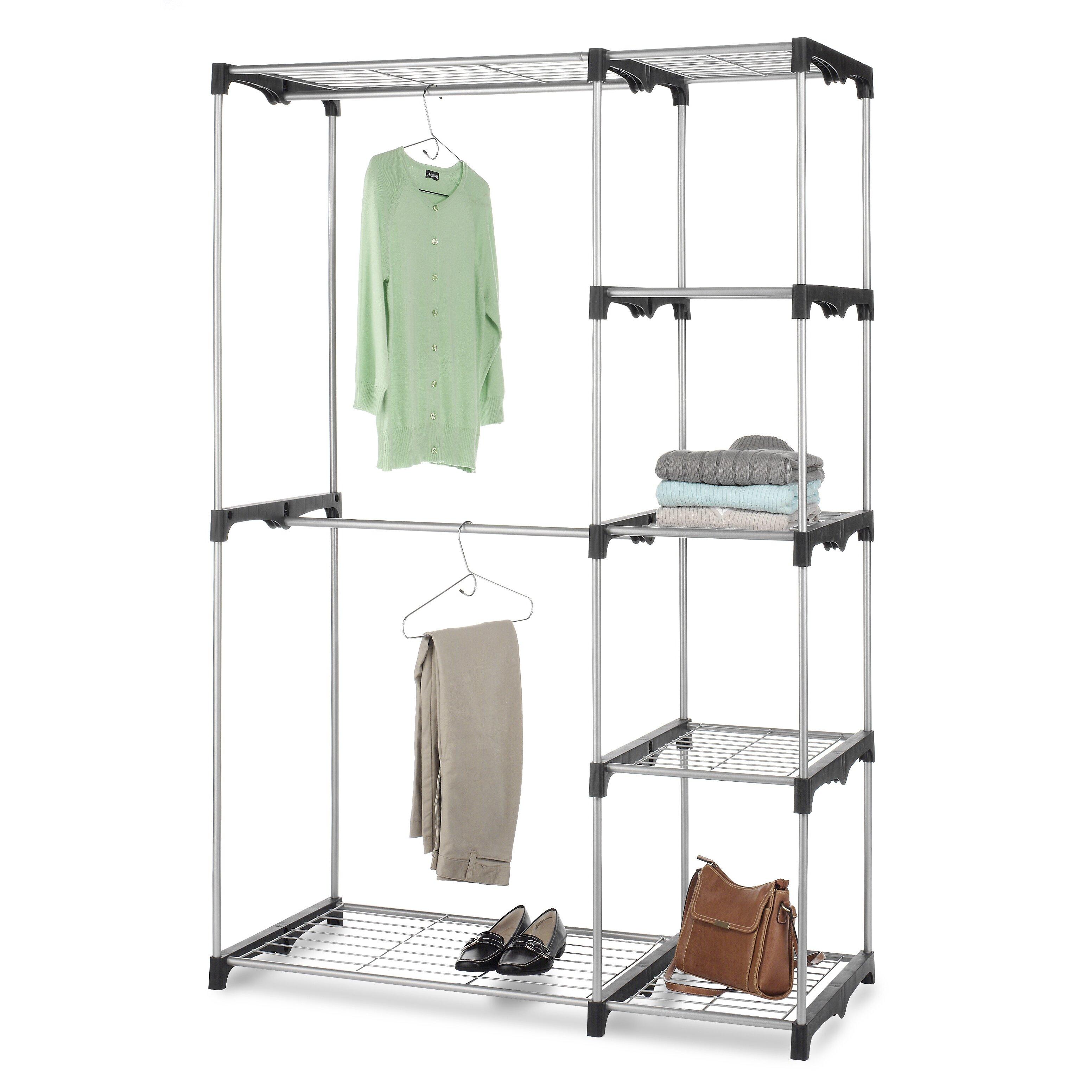 Whitmor Inc 45 24 Quot W Closet System Amp Reviews Wayfair