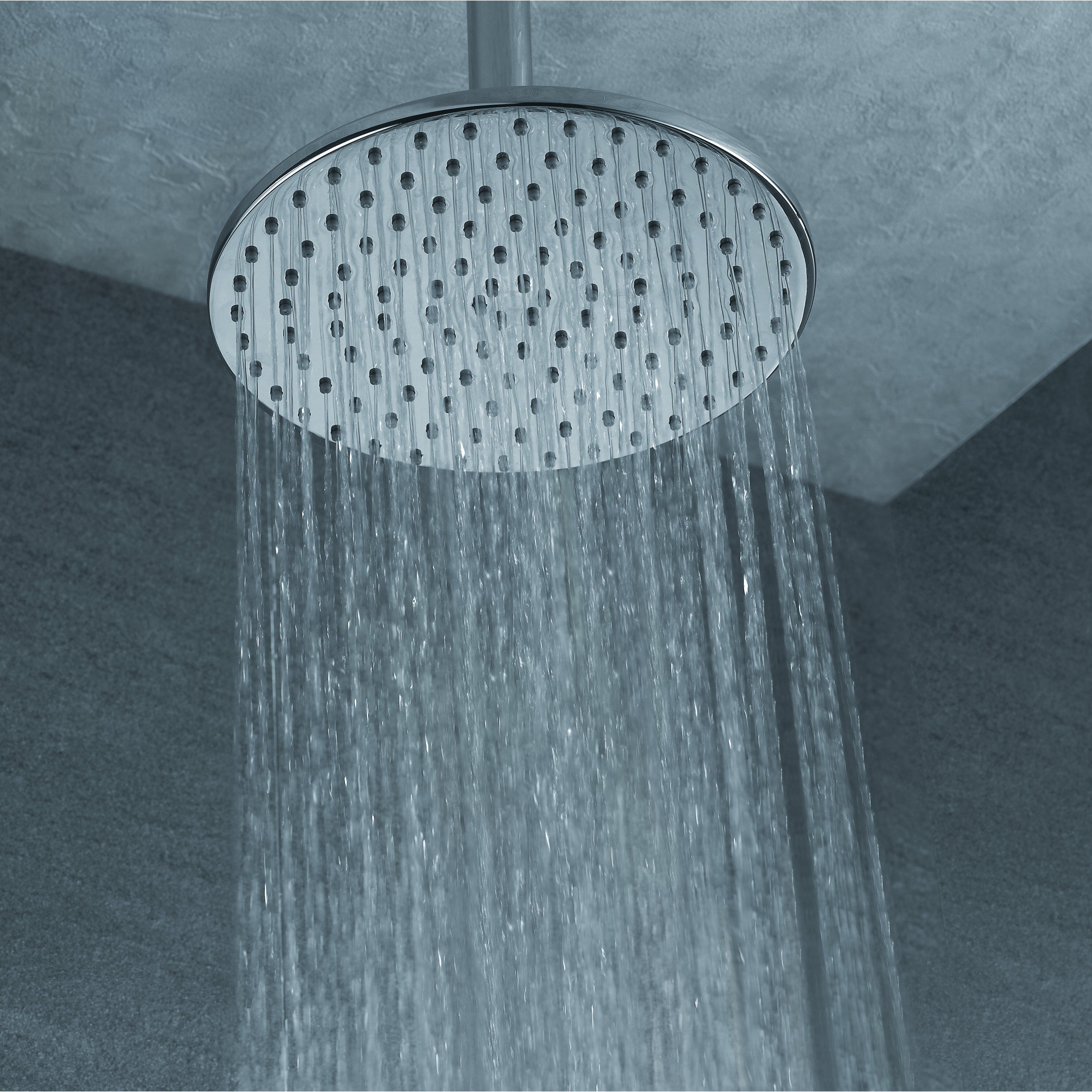 artos opera ceiling mount rain shower head