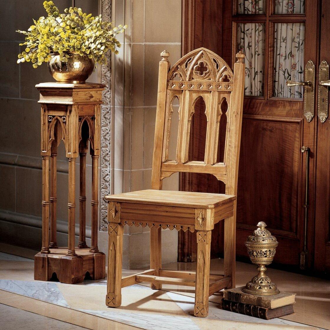 Gothic furniture chair - Design Toscano Sudbury Gothic Side Chair