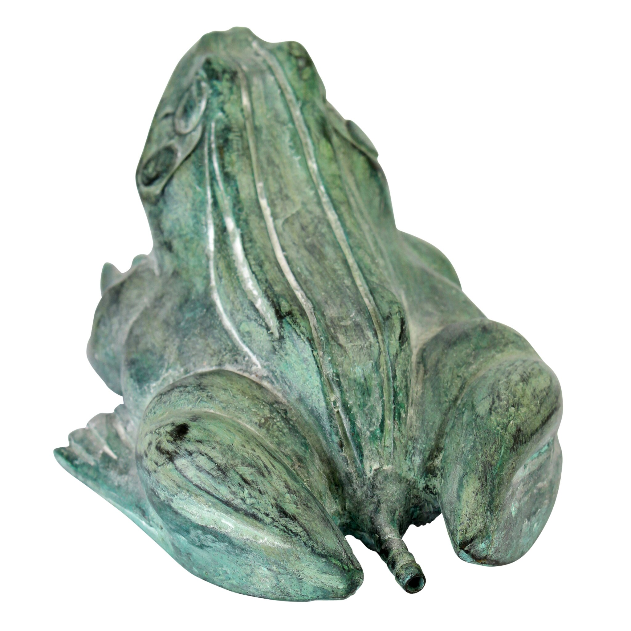 Design Toscano Small Bull Frog Cast Bronze Garden Statue Wayfair