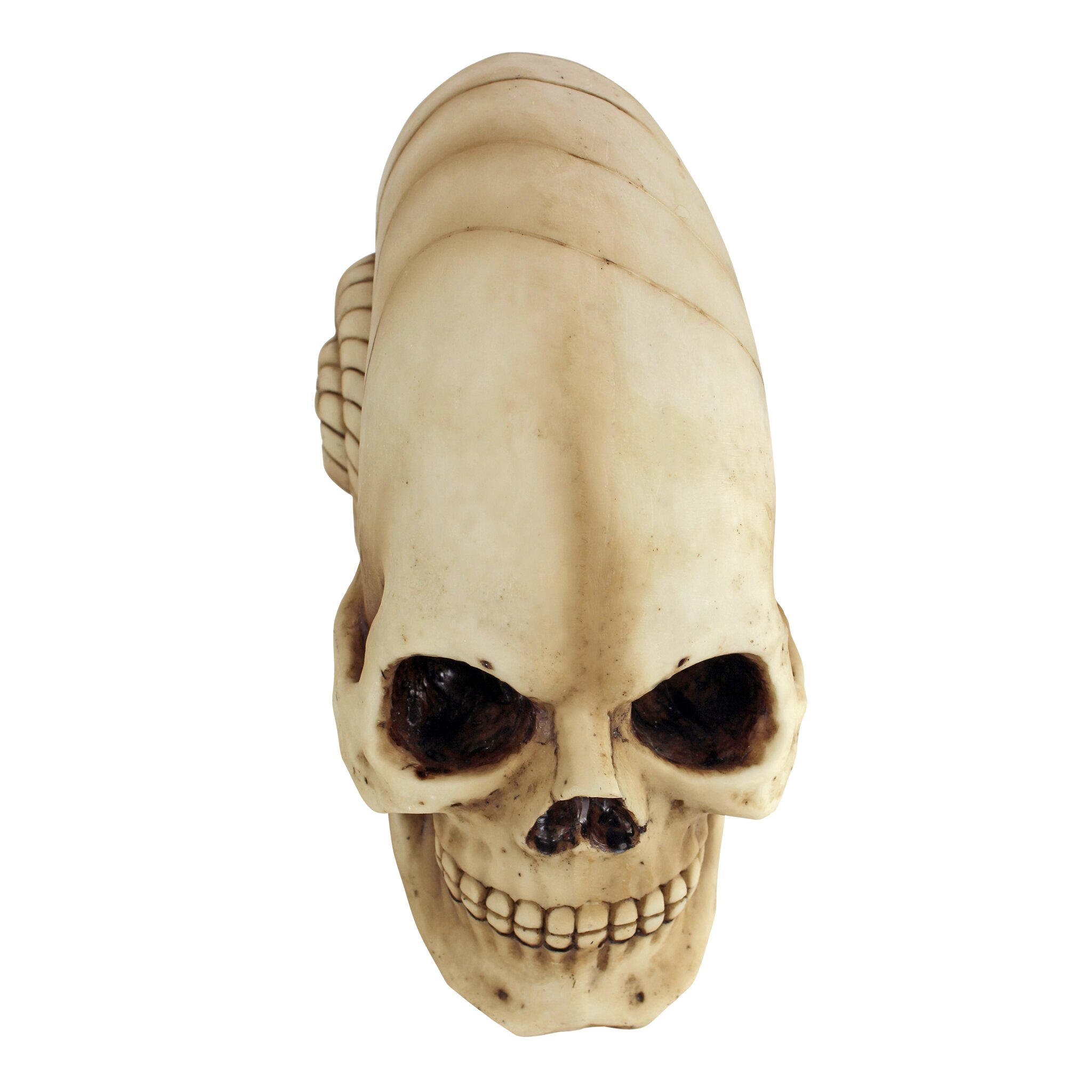 Design toscano out of this world alien skull statue for Out of this world design