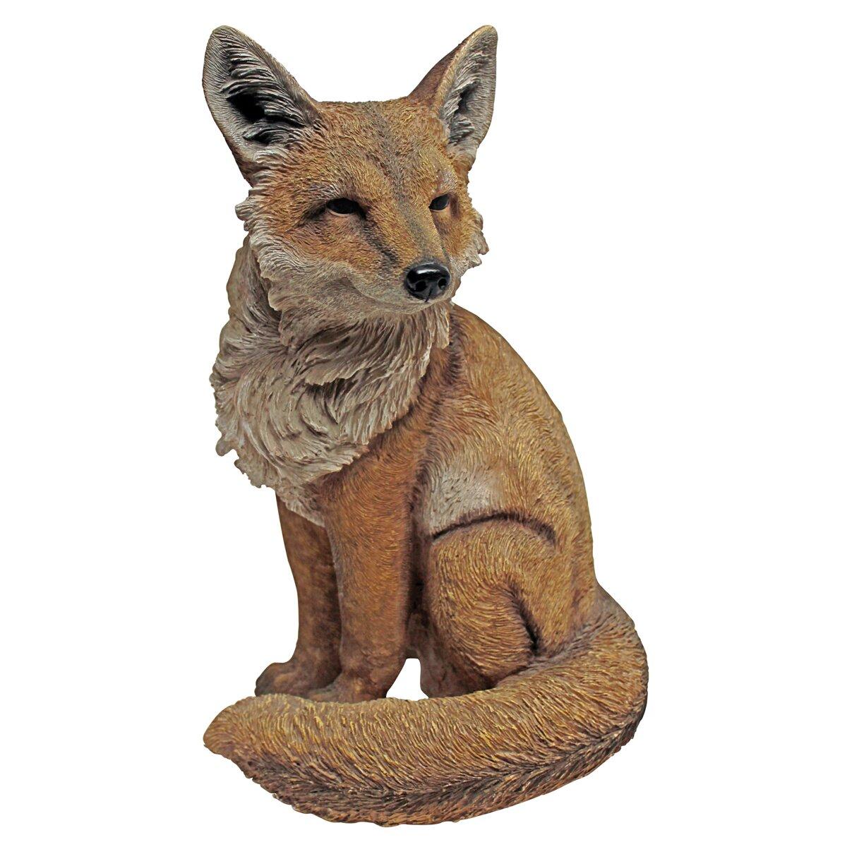 Design Toscano Fabian the Flamboyant Fox Garden Statue Reviews