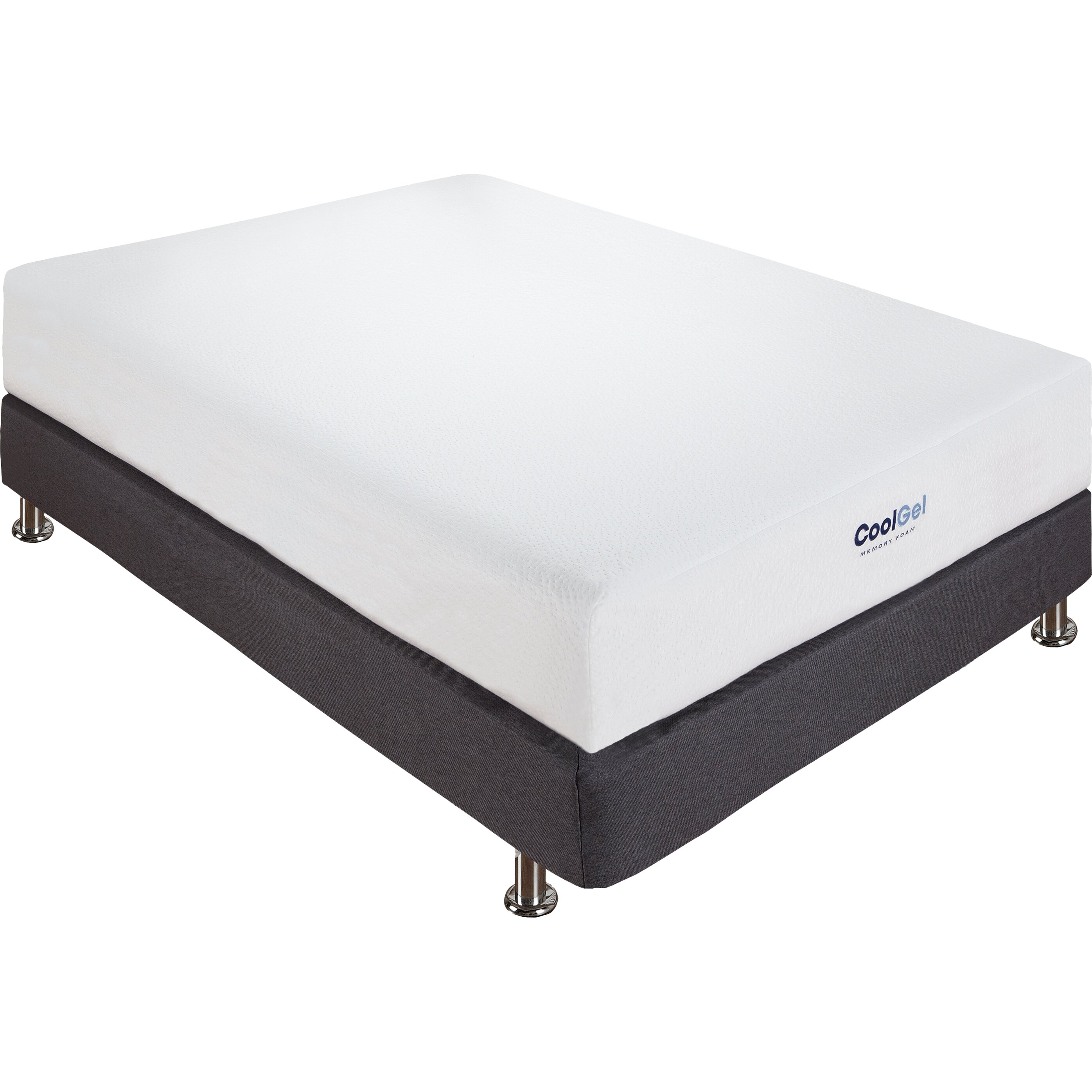 "Classic Brands 8"" Gel Memory Foam Mattress & Reviews"