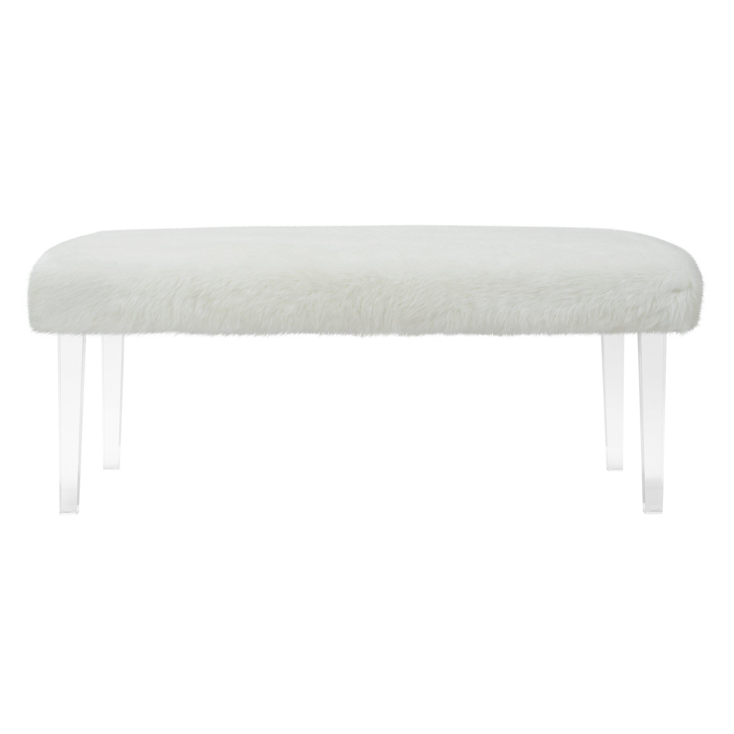 jennifer taylor tabitha bedroom bench & reviews   wayfair