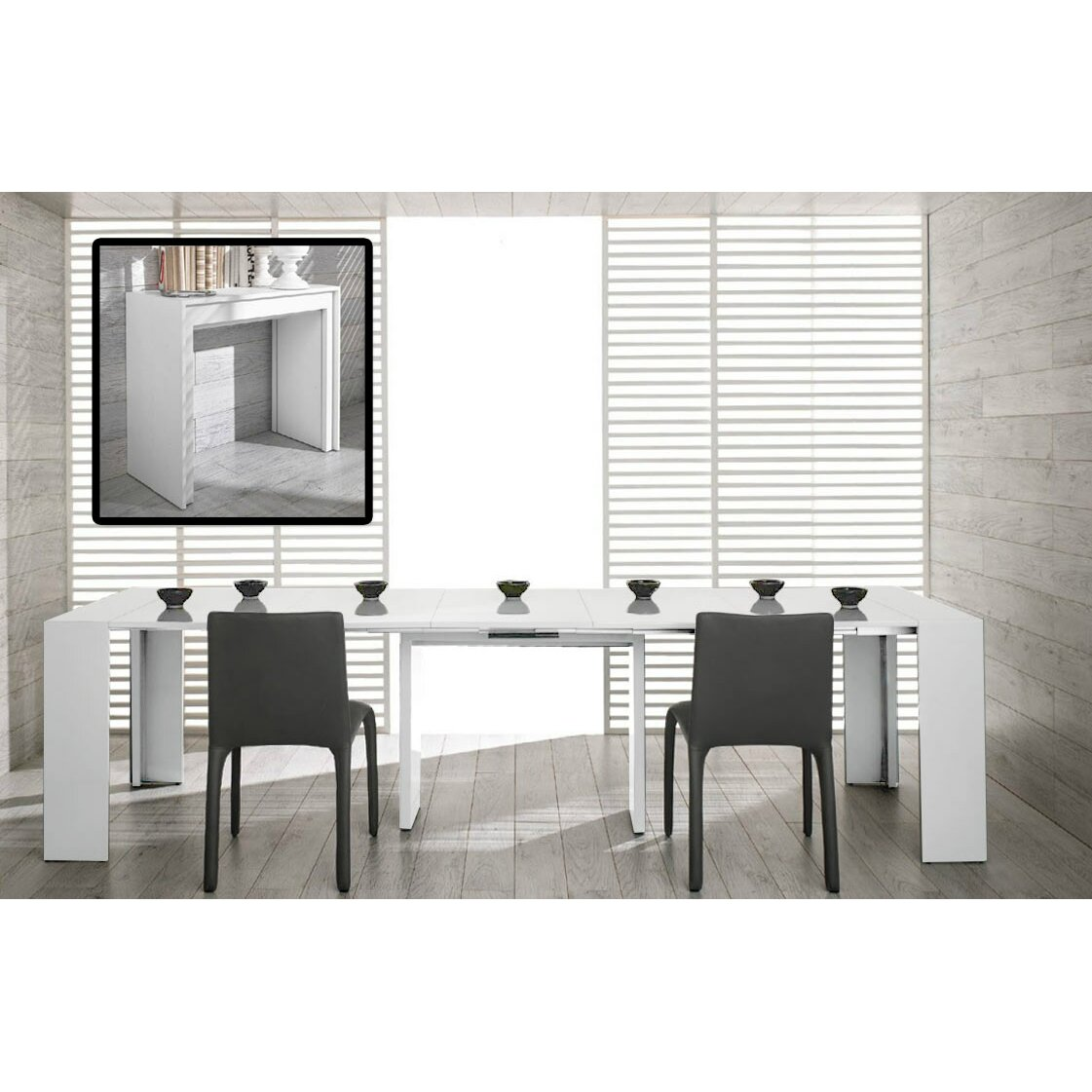 Vig Furniture Modrest Morph Ultra Compact Extendable