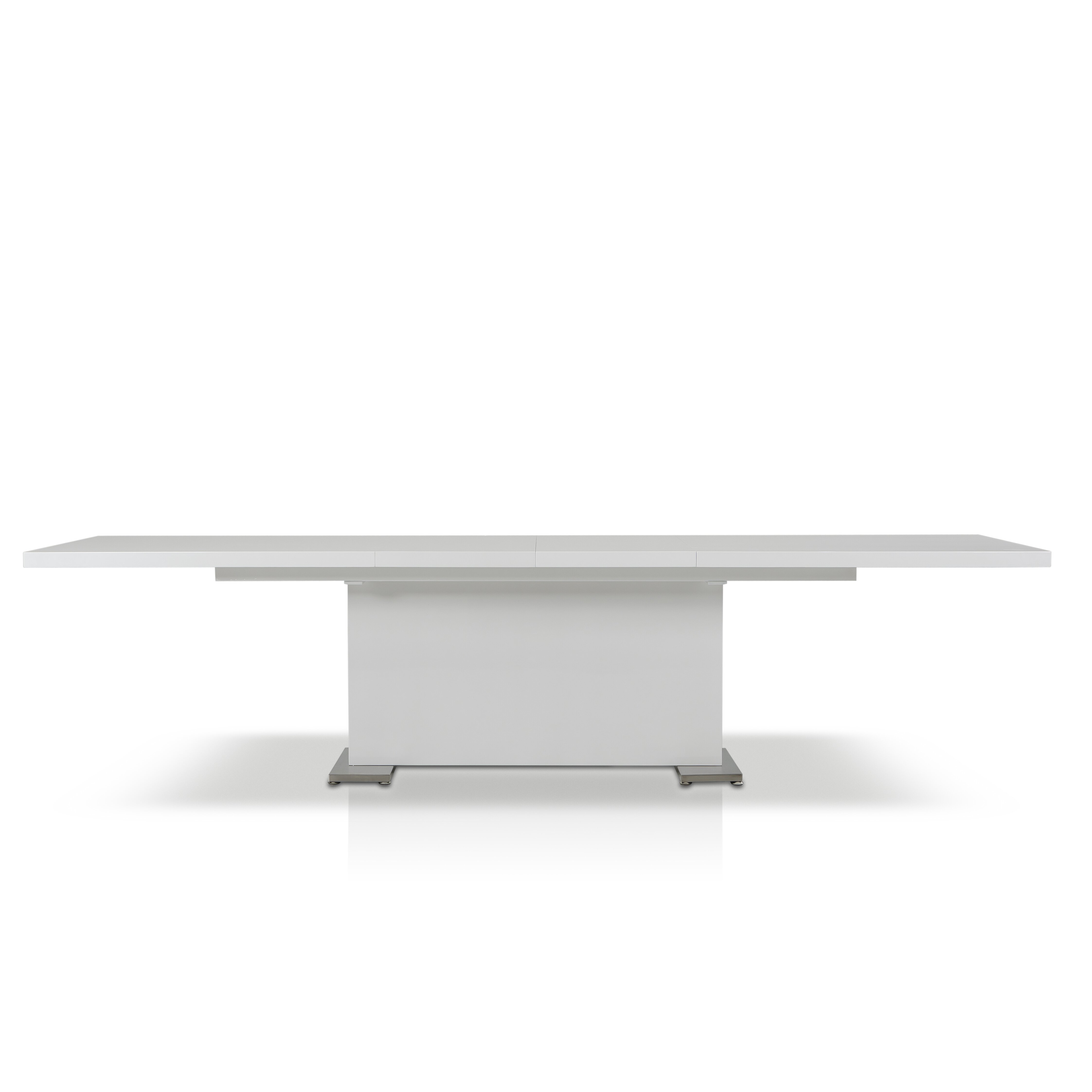 bono extendable glass dining table images