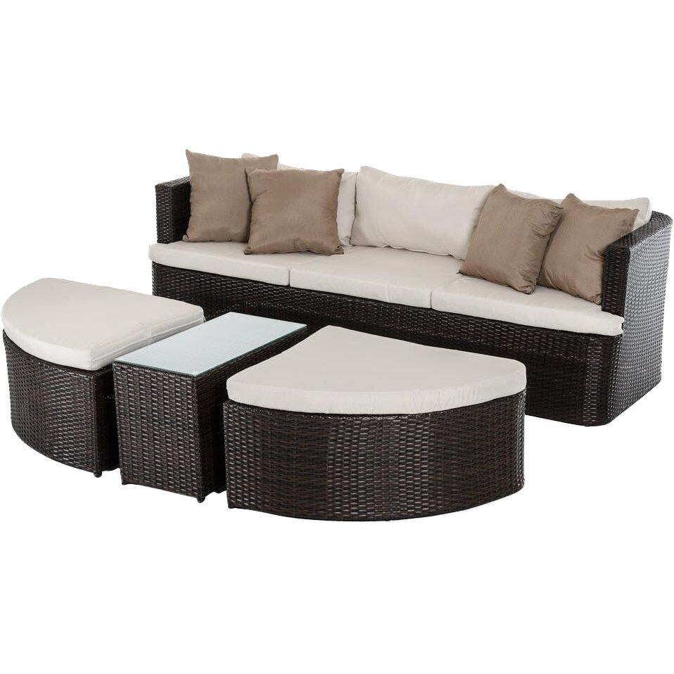 Outdoor Patio Furniture Toronto: VIG Furniture Renava Toronto Outdoor 11 Piece Deep Seating