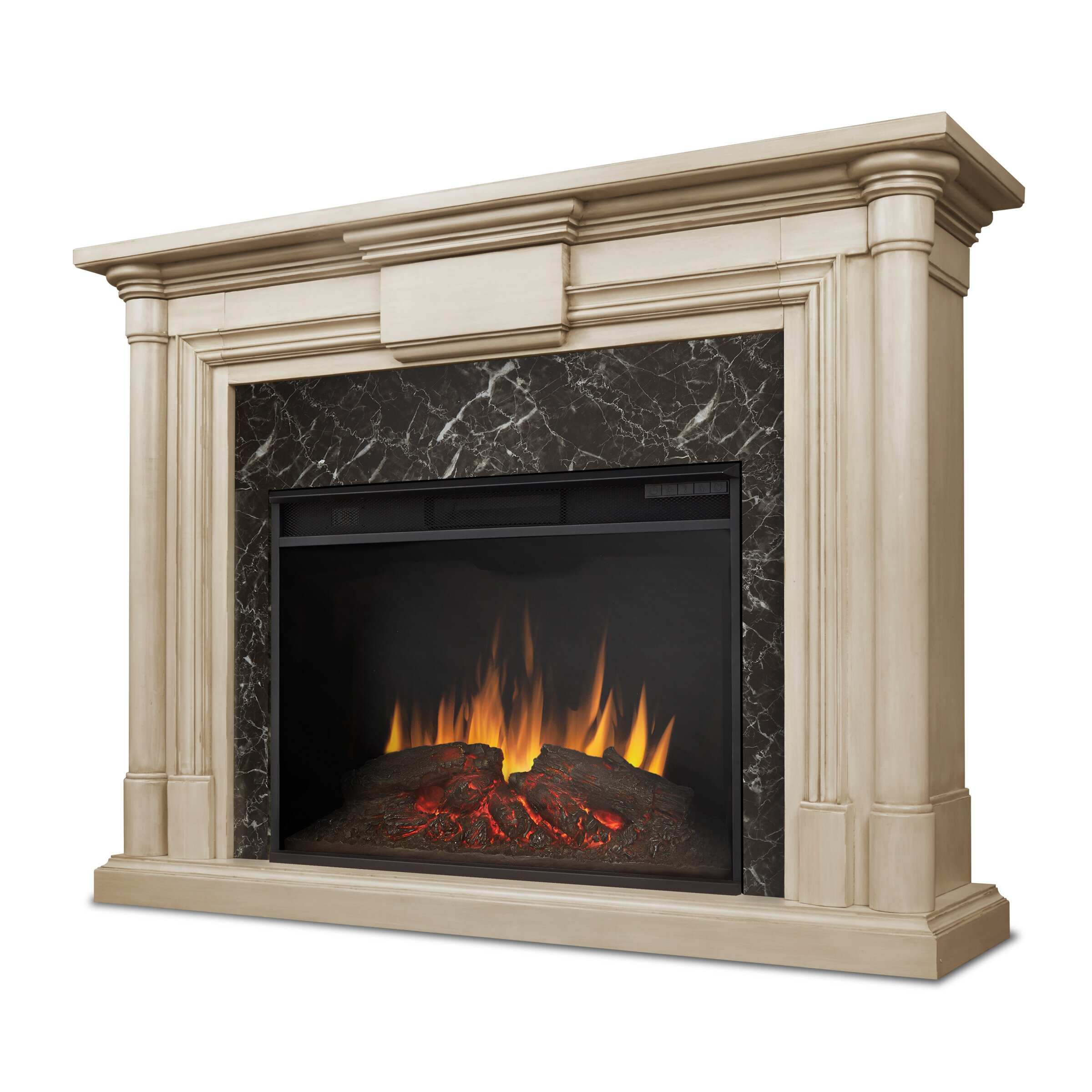 real flame electric fireplace real flame harlan grand electric