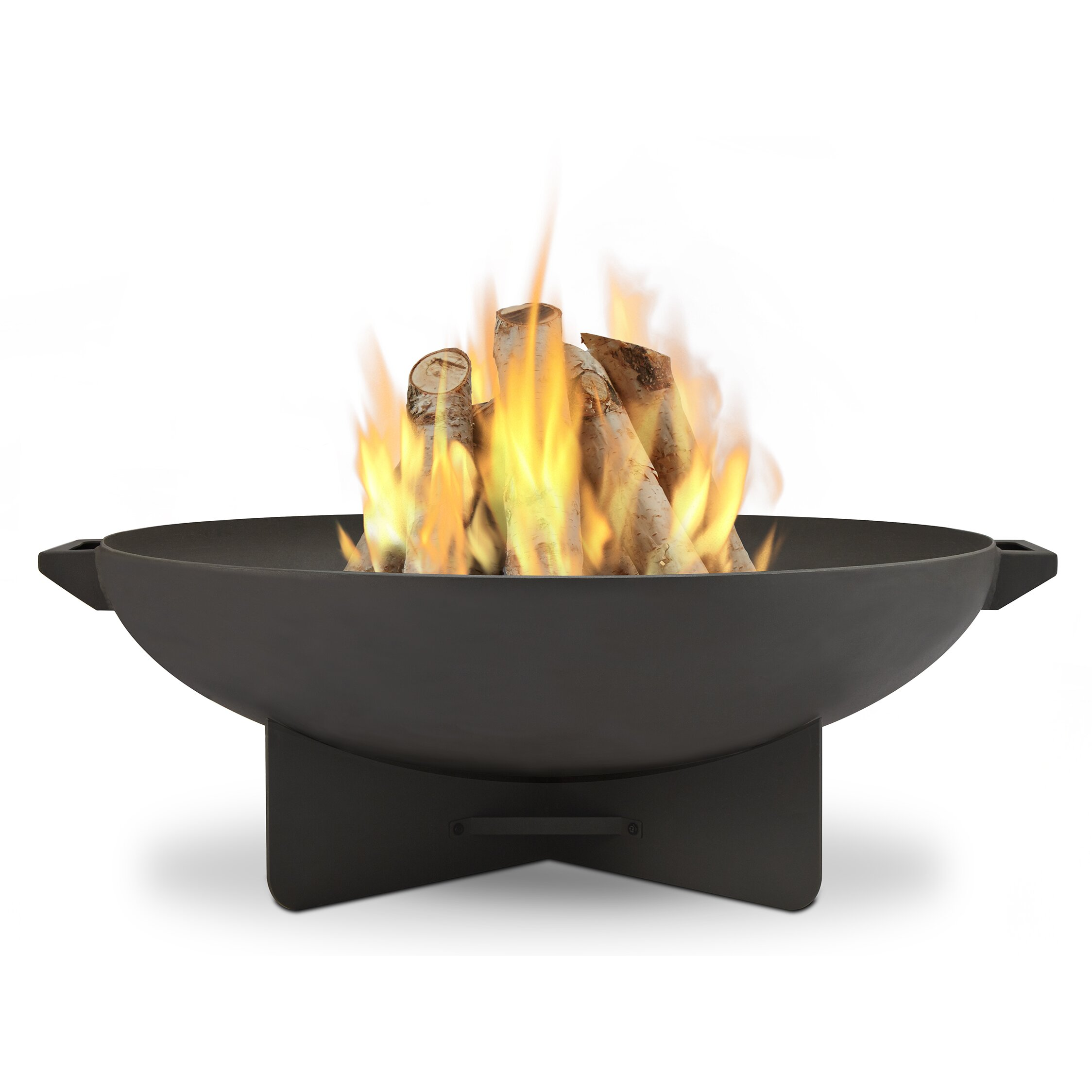 Real Flame Anson Wood Fire Pit & Reviews   Wayfair