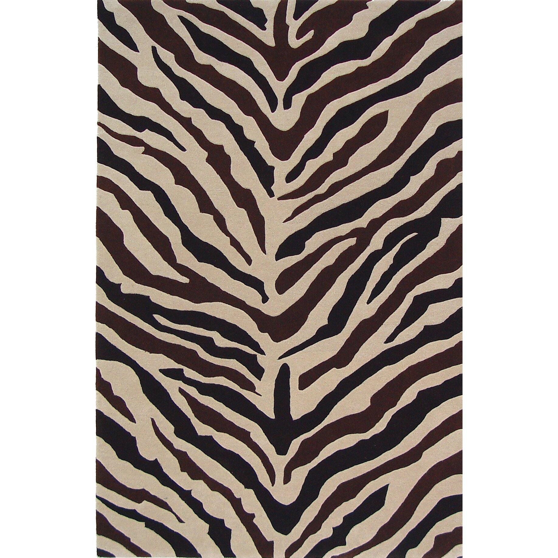 Zebra Rug Wayfair: Meva Rugs Sway Zebra Rug