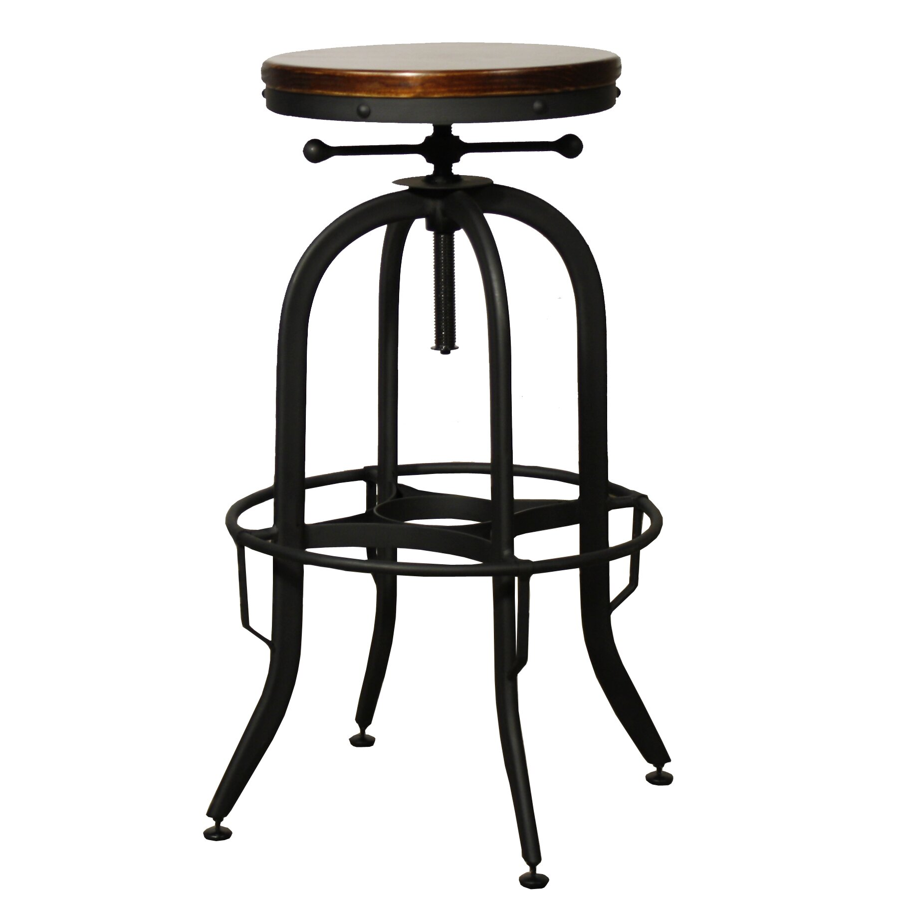 New Pacific Direct Industrial Adjustable Height Swivel Bar  : New Pacific Direct Industrial Adjustable Height Swivel Bar Stool from www.wayfair.com size 1806 x 1806 jpeg 177kB