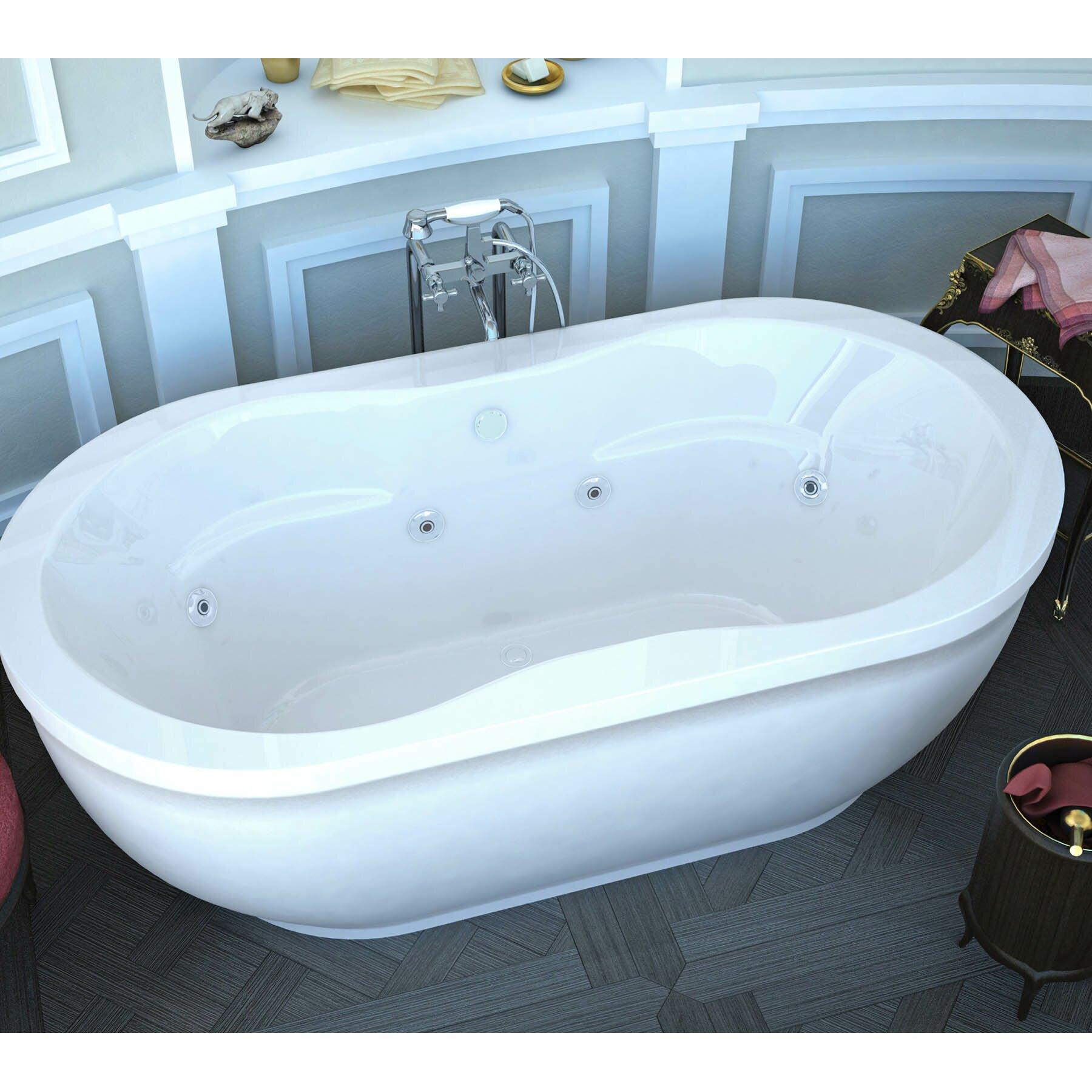 Spa Escapes Vivara  X  Freestanding Bathtub  Reviews - Freestanding tub end drain
