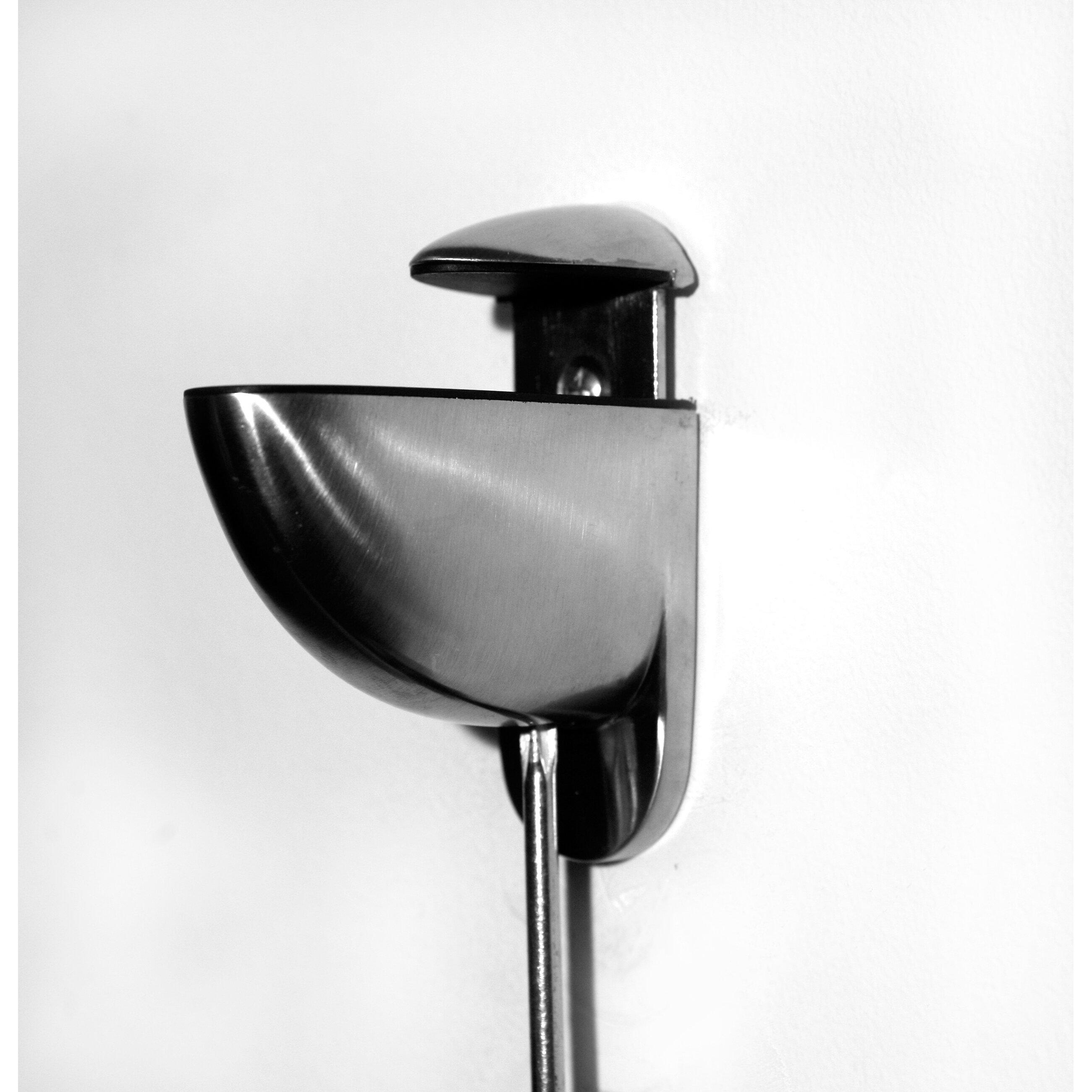 Glass Bathroom Shelf Spancraft Glass Floating Glass Bathroom Shelf Reviews Wayfair