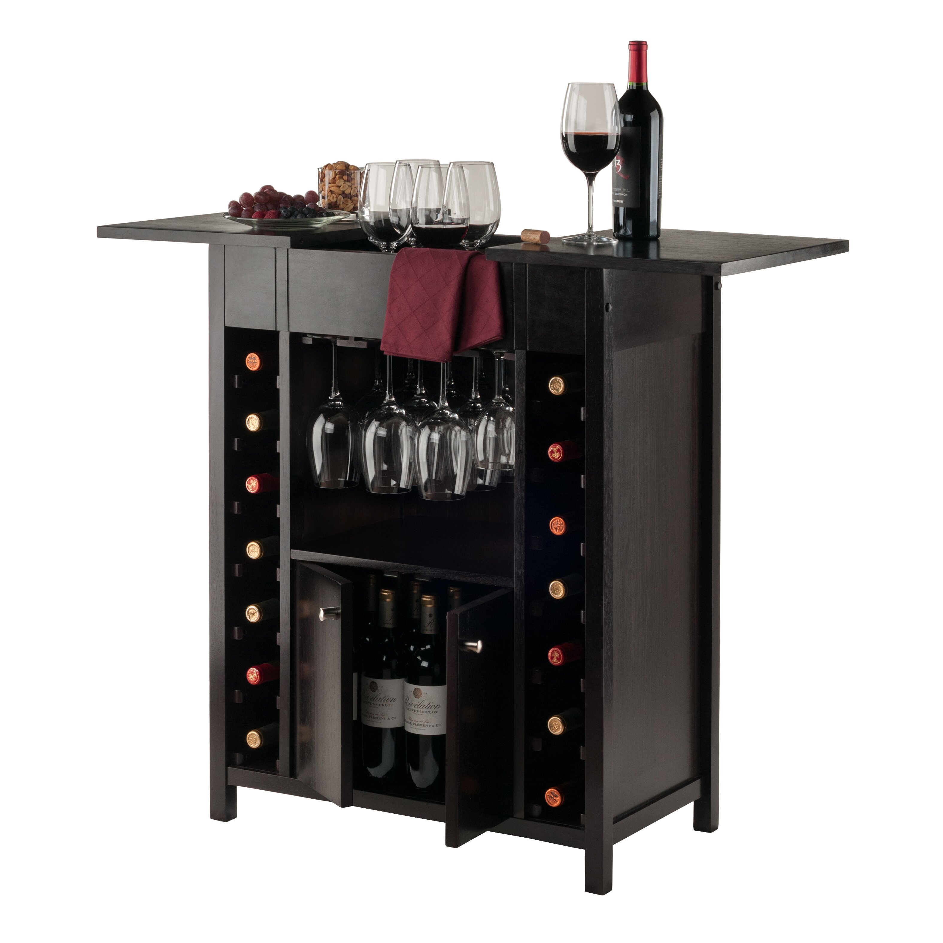 Portable Liquor Cabinet Bar Cabinet Reviews Allmodern