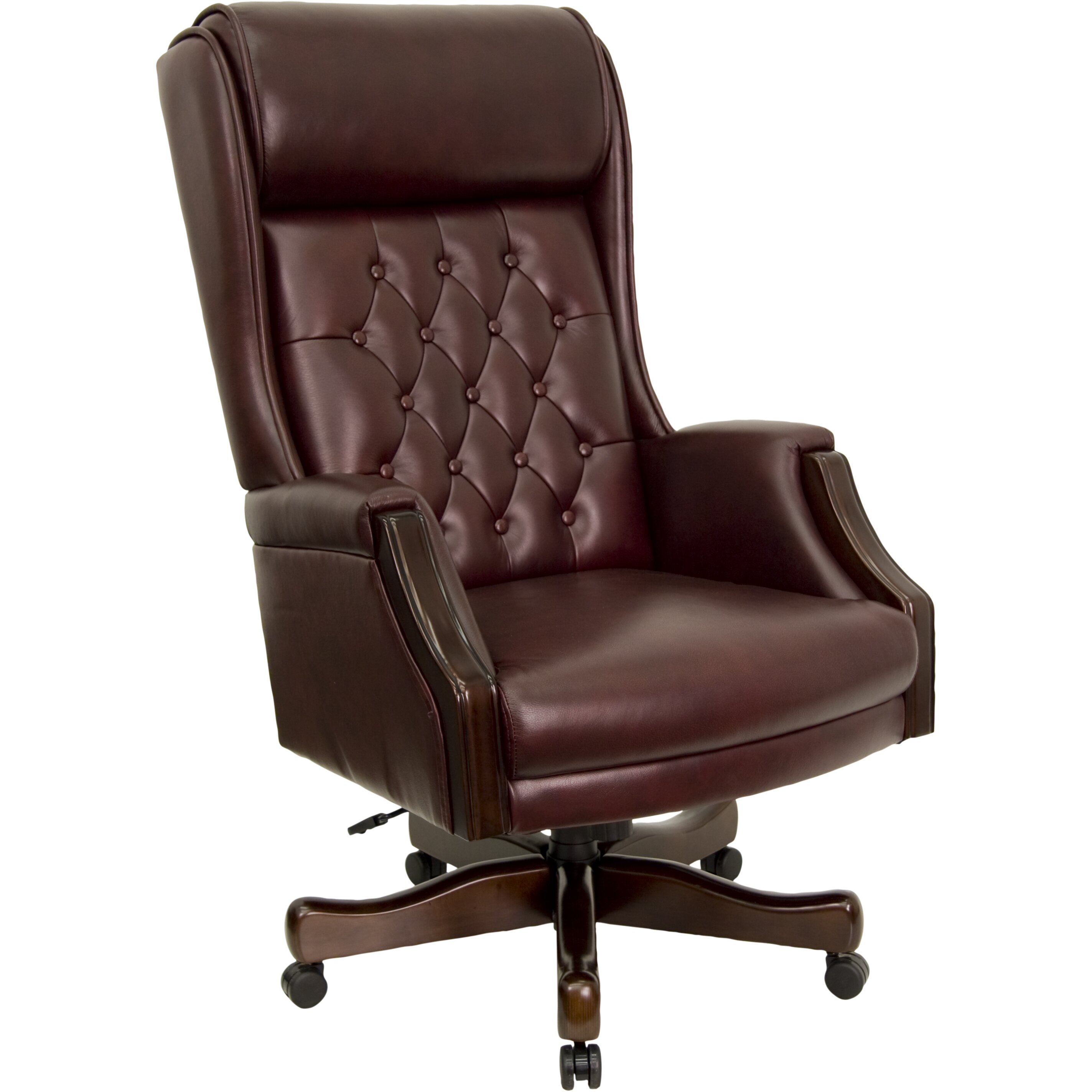 leather executive chair flash furniture leather executive chair amp reviews wayfair 16625 | Flash Furniture Leather Executive Chair