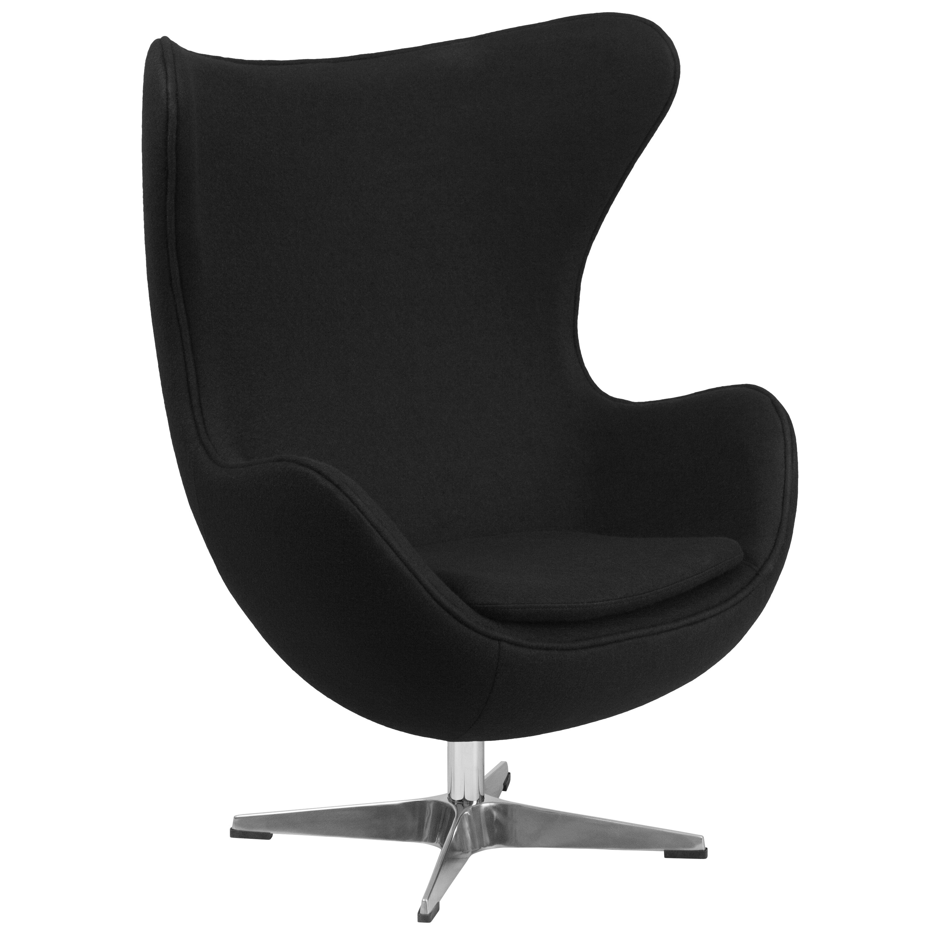 Flash Furniture Wool Fabric Egg Chair & Reviews
