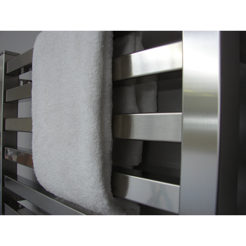 Amba Quadro Wall Mount Electric Towel Warmer & Reviews | Wayfair - Amba Quadro Wall Mount Electric Towel Warmer