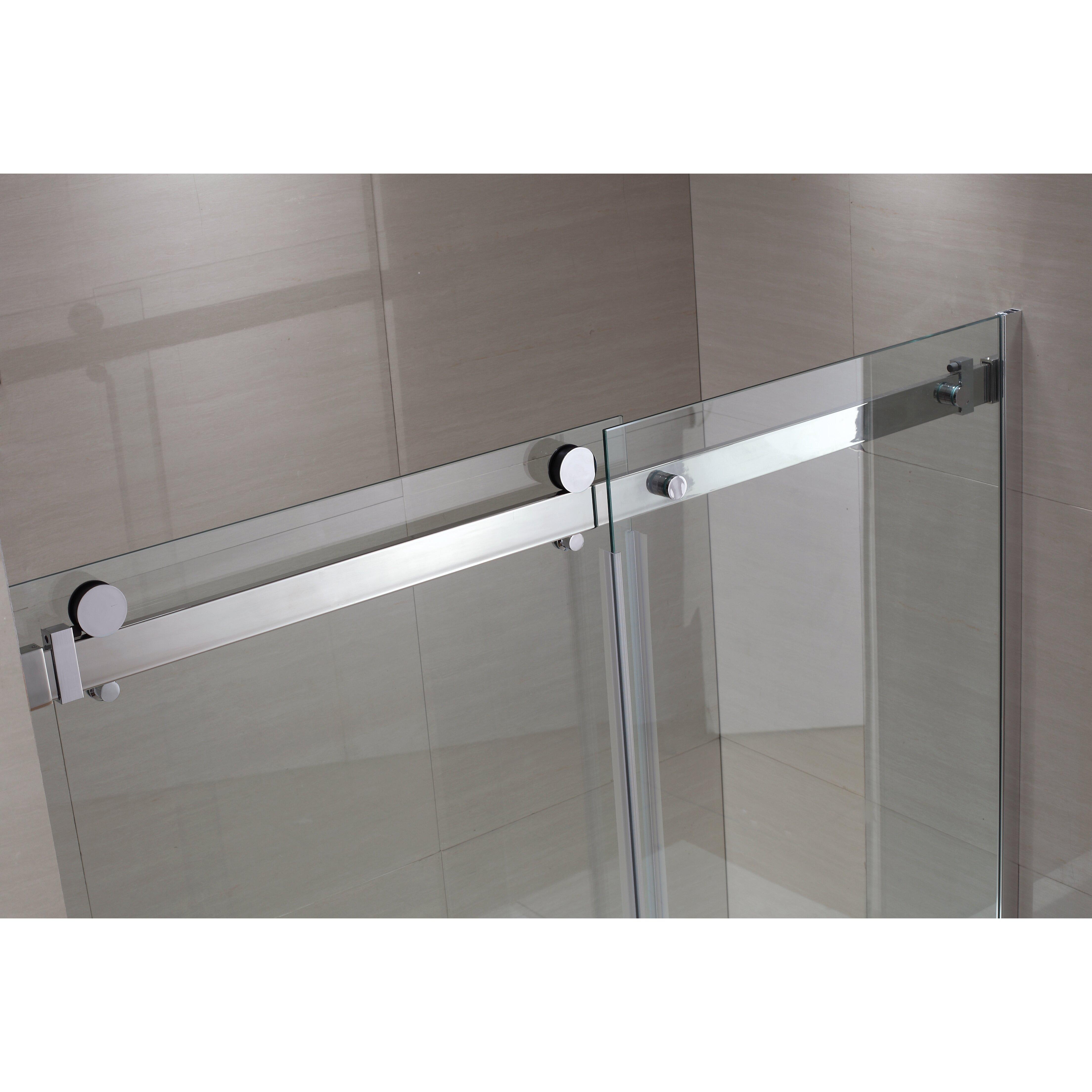 Ove Decors Shower Doors Ove Decors Sierra 59 X 59 Single Sliding Tub Door Reviews