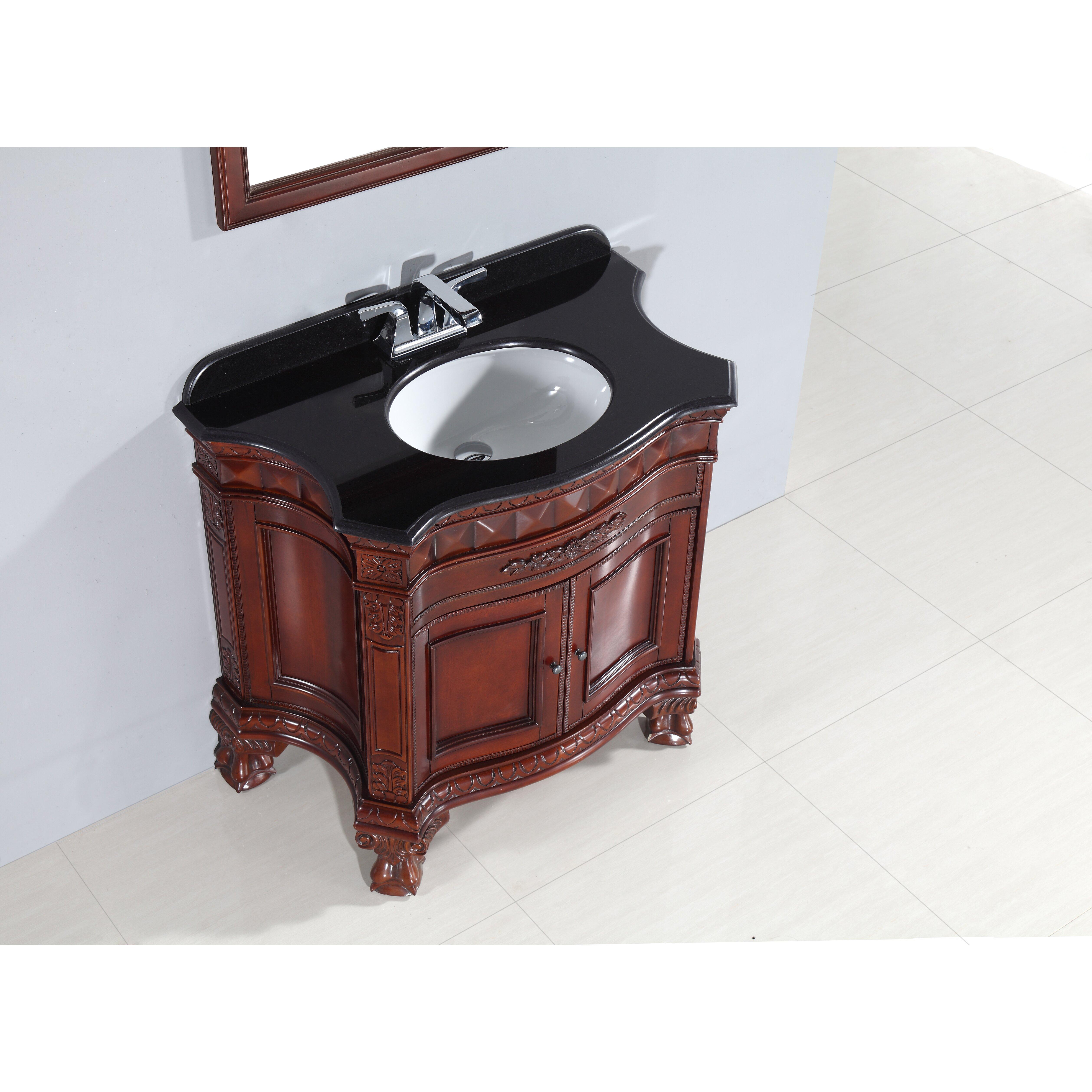 ove decors bromley 36 single bathroom vanity set reviews wayfair - Ove Decors