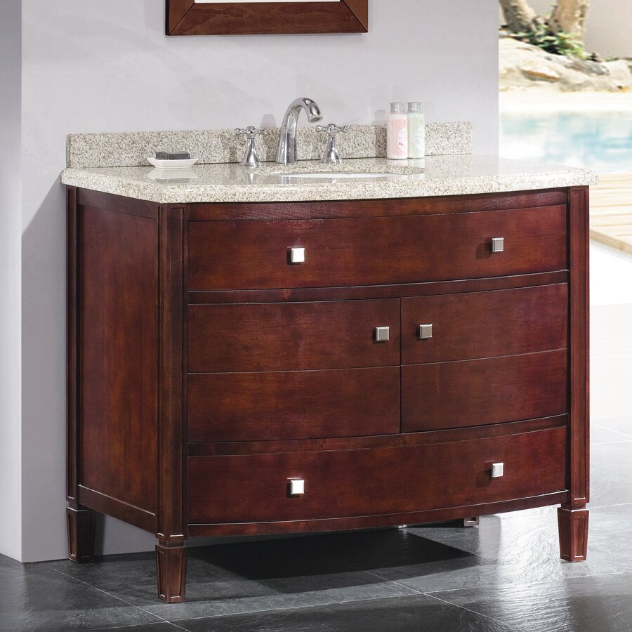 42 Bathroom Vanity Ove Decors Georgia 42 Single Bathroom Vanity Set Reviews Wayfair