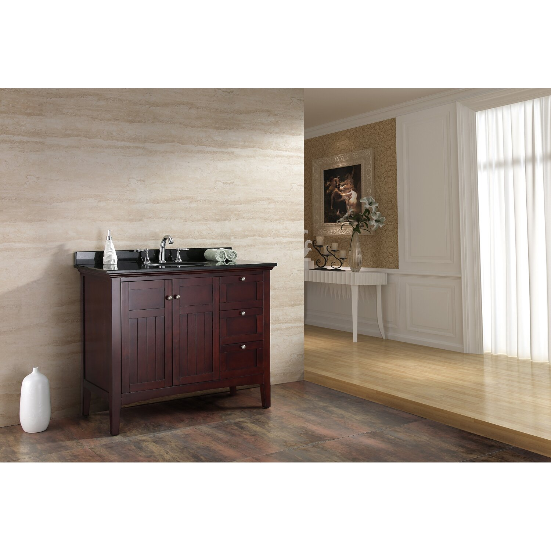 ove decors gavin 42quot single bathroom vanity set - Ensemble Vanite Armoire