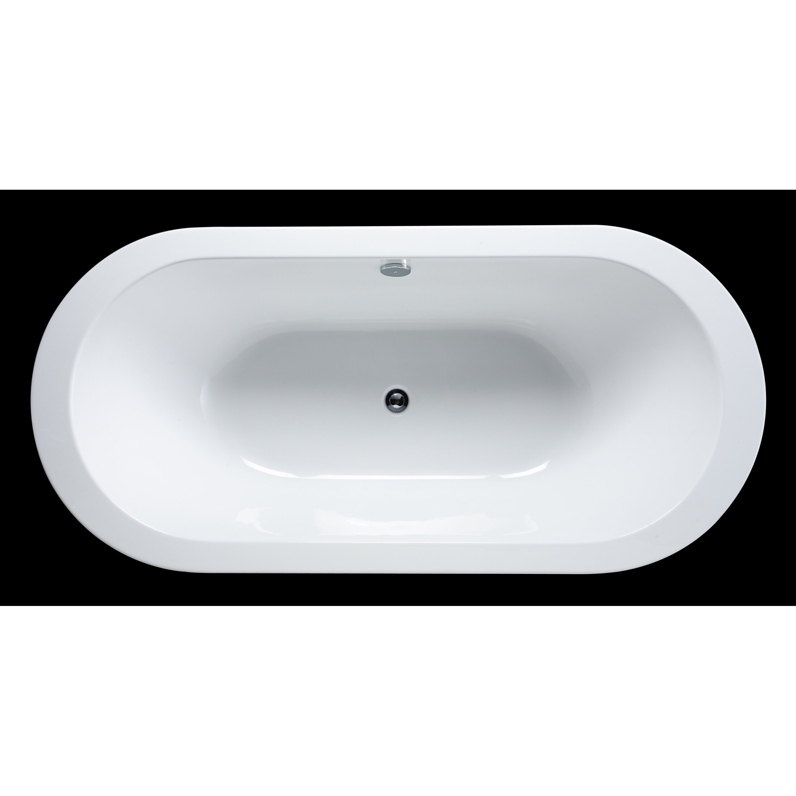 Ove Decors Serenity  X  Acrylic Freestanding Bathtub - Free standing tub dimensions