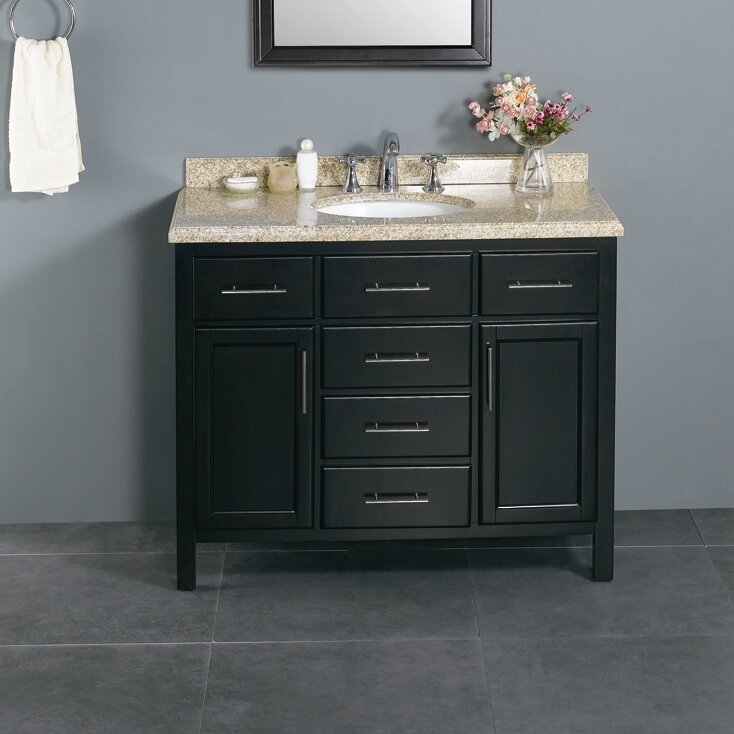 Ove Decors Milan 42 Single Bathroom Vanity Set Reviews – 42 Bathroom Vanity Cabinets