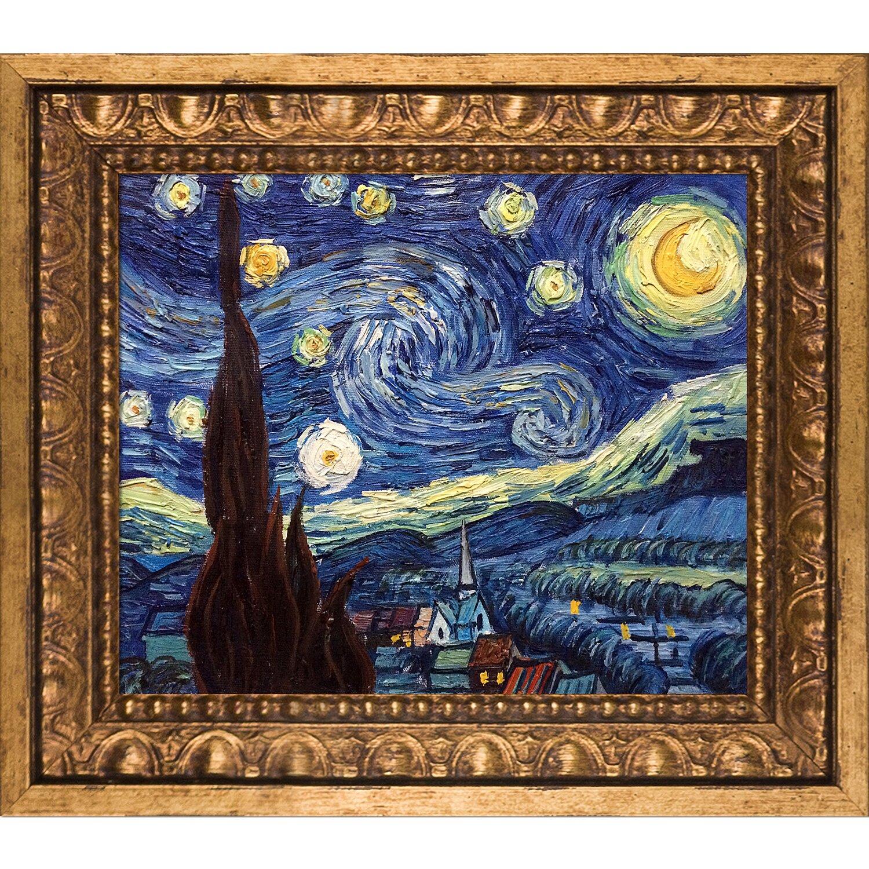 Astoria Grand Starry Night By Vincent Van Gogh Framed