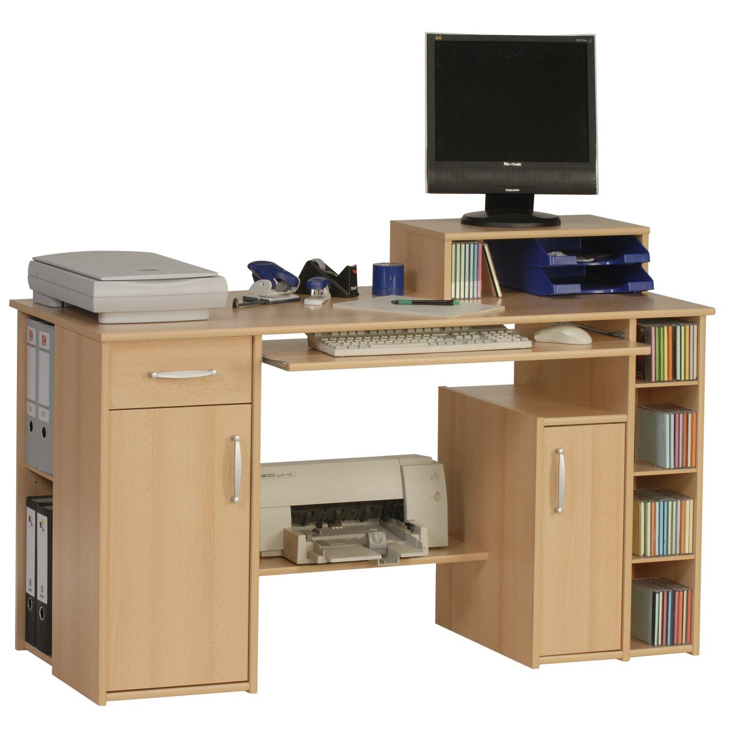 maja m bel schreibtisch mit tastaturauszug bewertungen. Black Bedroom Furniture Sets. Home Design Ideas