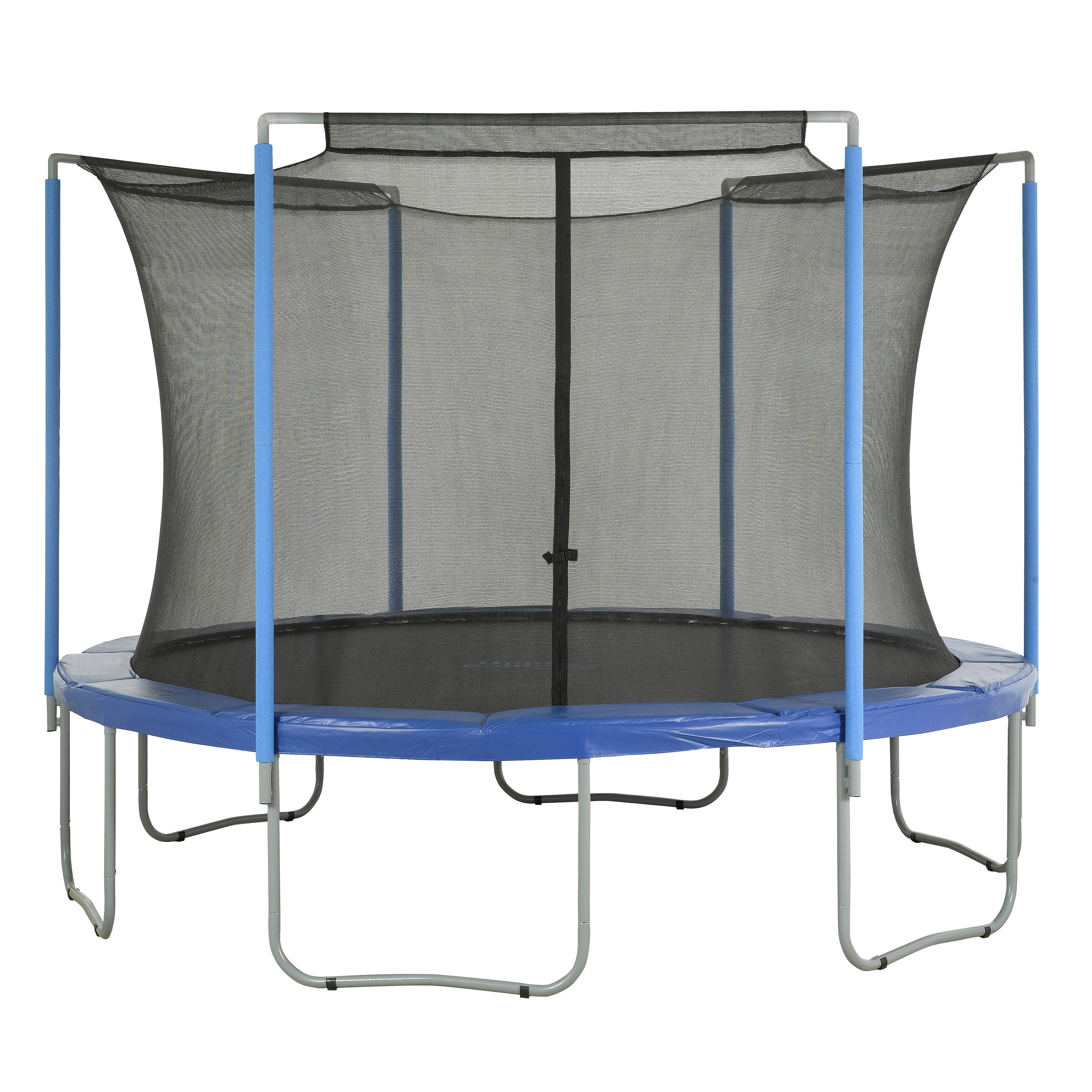 Round Trampoline Frame Parts: Upper Bounce 14' Trampoline Enclosure Safety Net Fits For