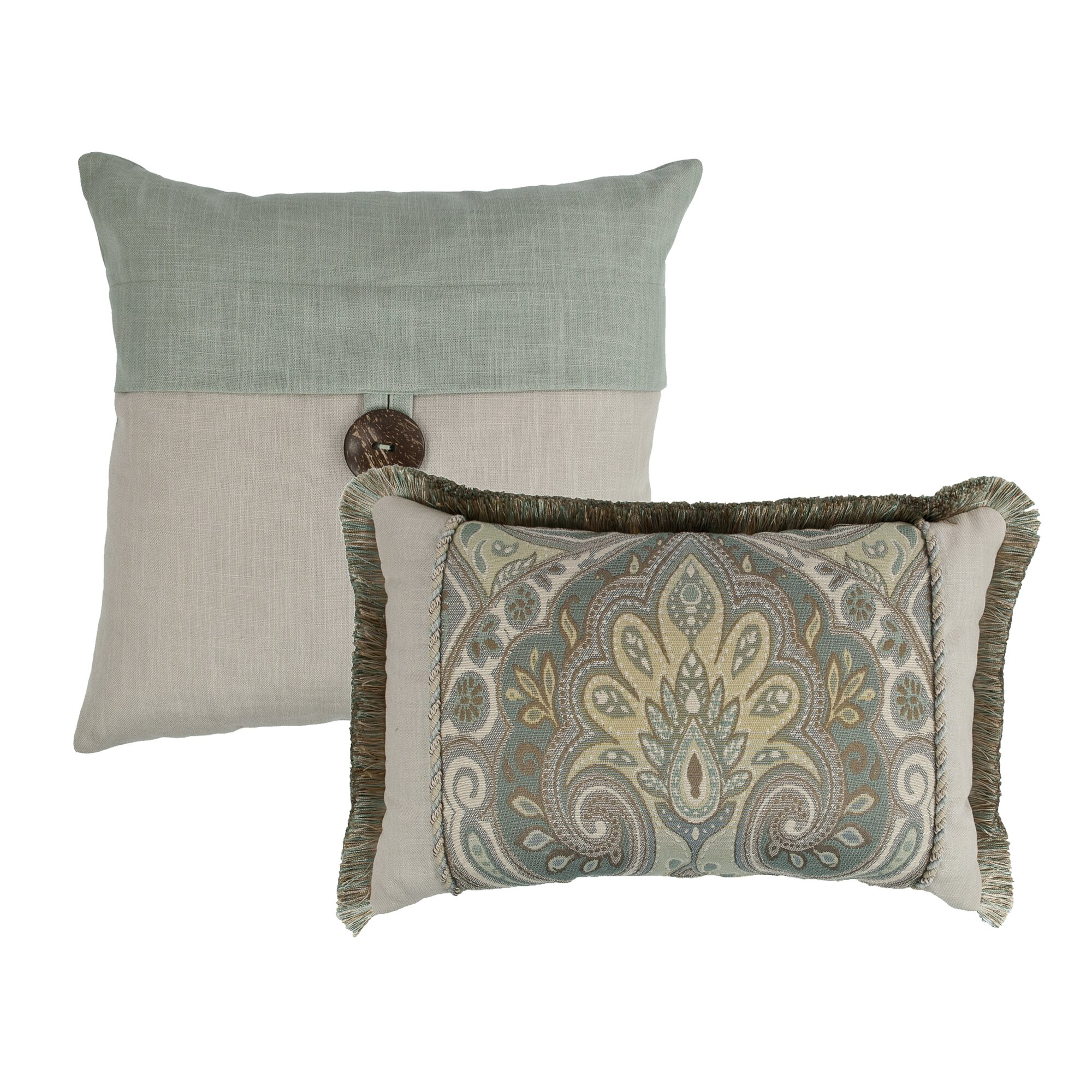 Decorative Pillow Set Sherry Kline Oasis 2 Piece Decorative Pillow Set Wayfair
