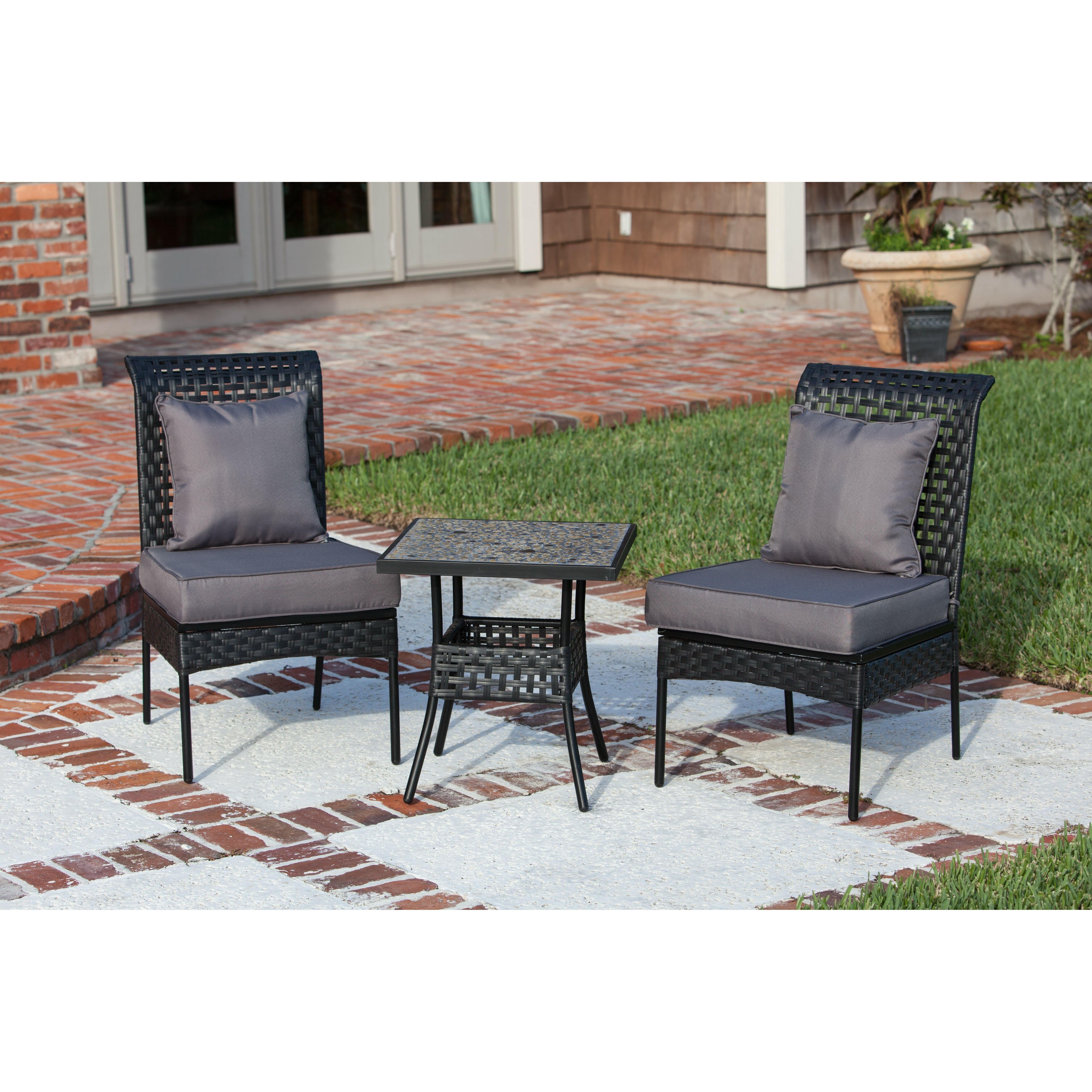 Stanley havasu 3 piece dining set reviews wayfair for Furniture 2 day shipping