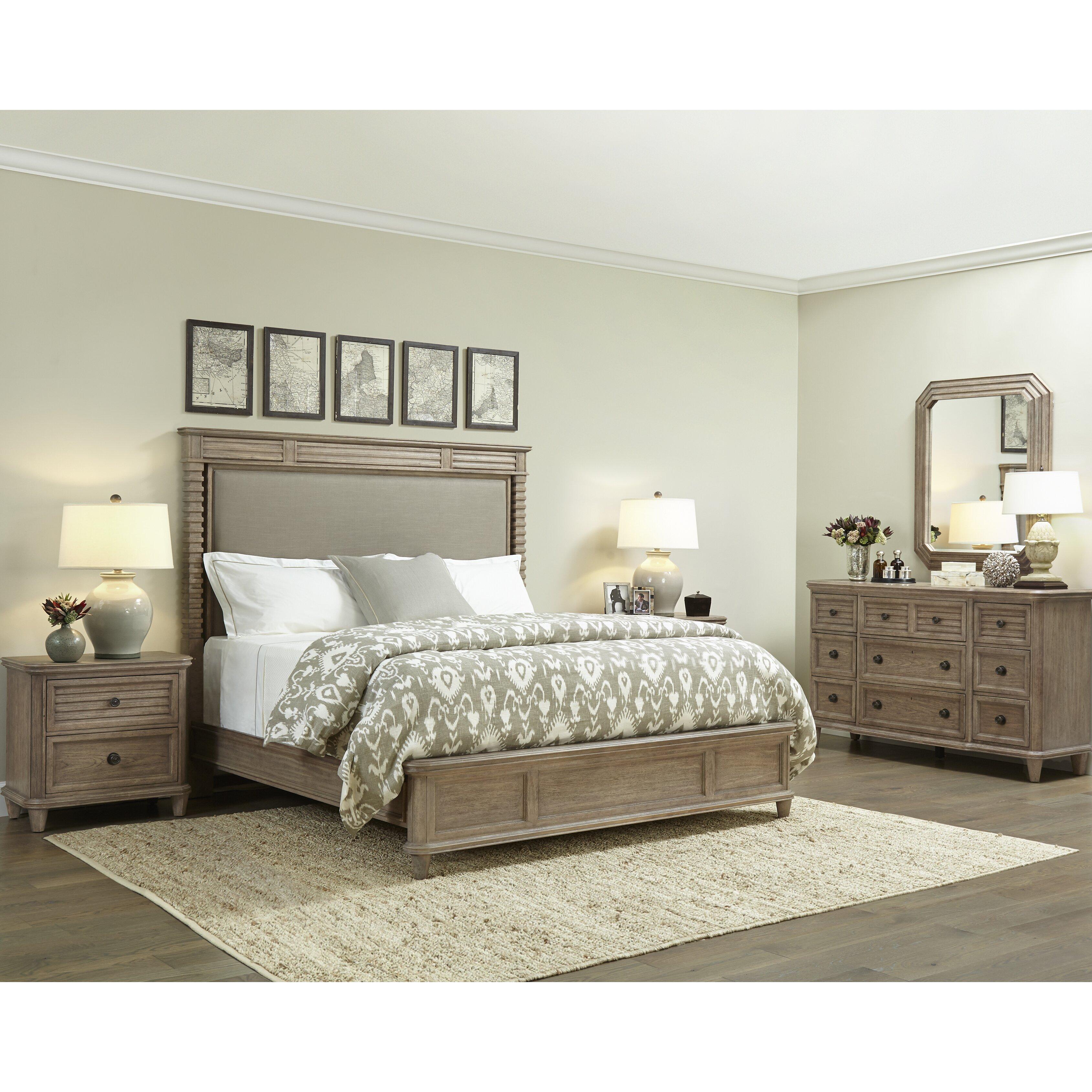 stanley furniture hadley panel customizable bedroom set