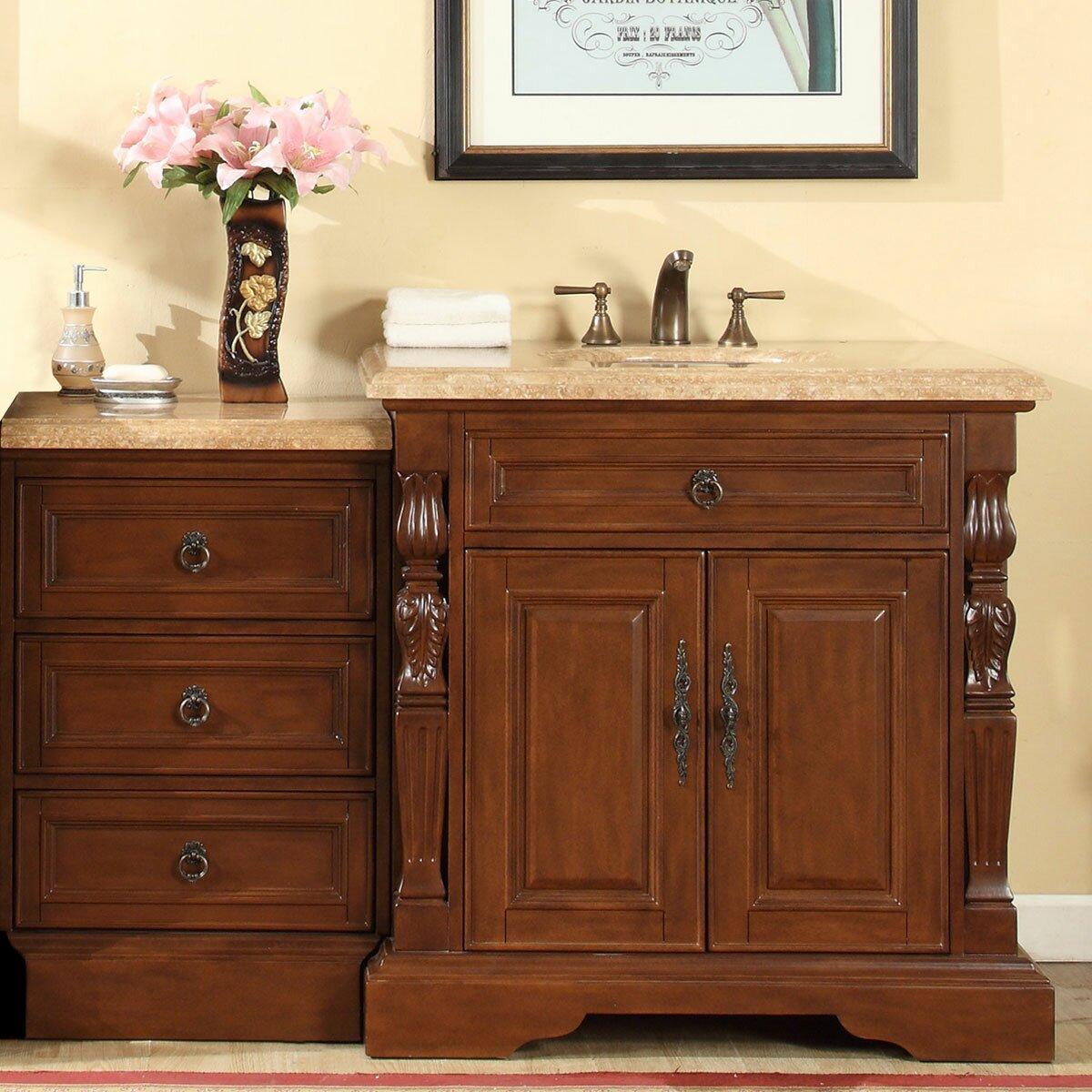 Silkroad Exclusive 55 5 Single Sink Bathroom Modular Vanity Set Reviews