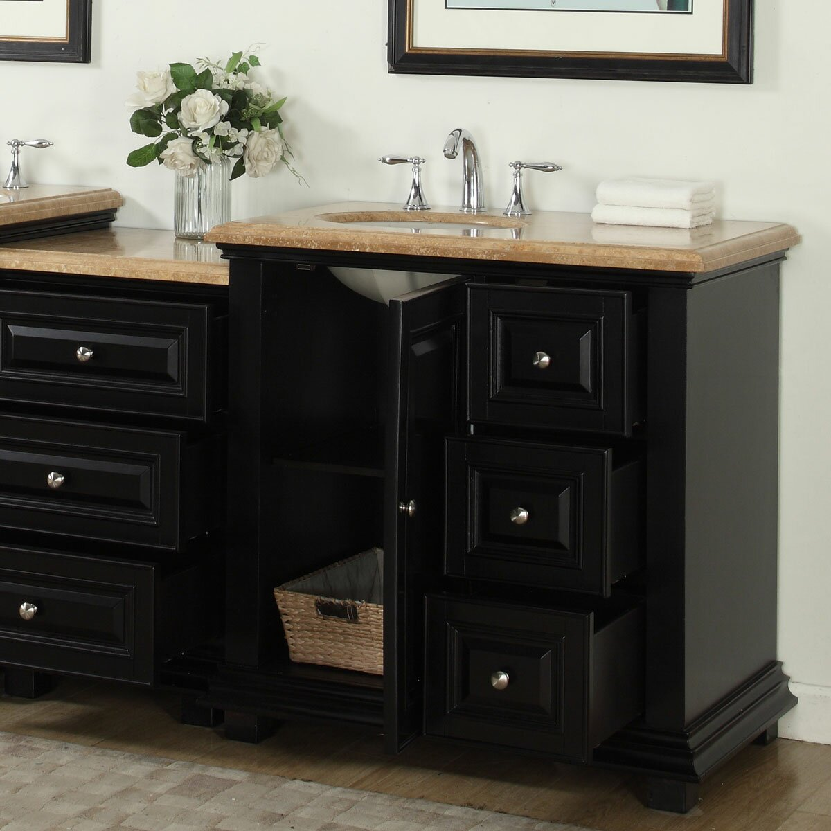 Left Side Sink Vanity : ...
