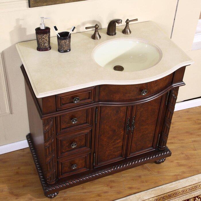 """silkroad exclusive butler """" single bathroom vanity set  reviews,"""