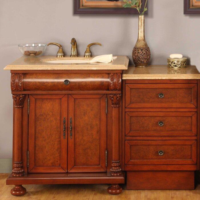 Amazing  Exclusive Kimberly 89quot Double Bathroom Vanity Set Amp Reviews  Wa