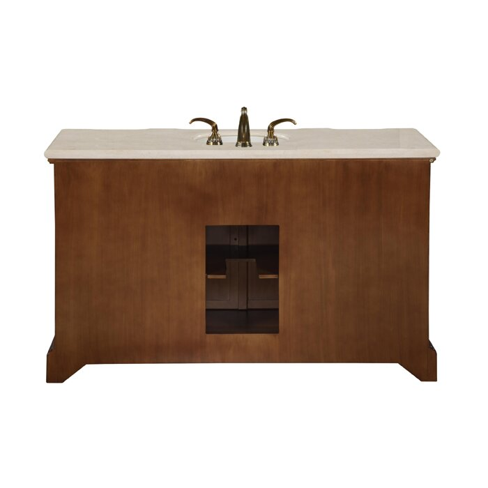 silkroad exclusive sabina 58 single bathroom vanity set