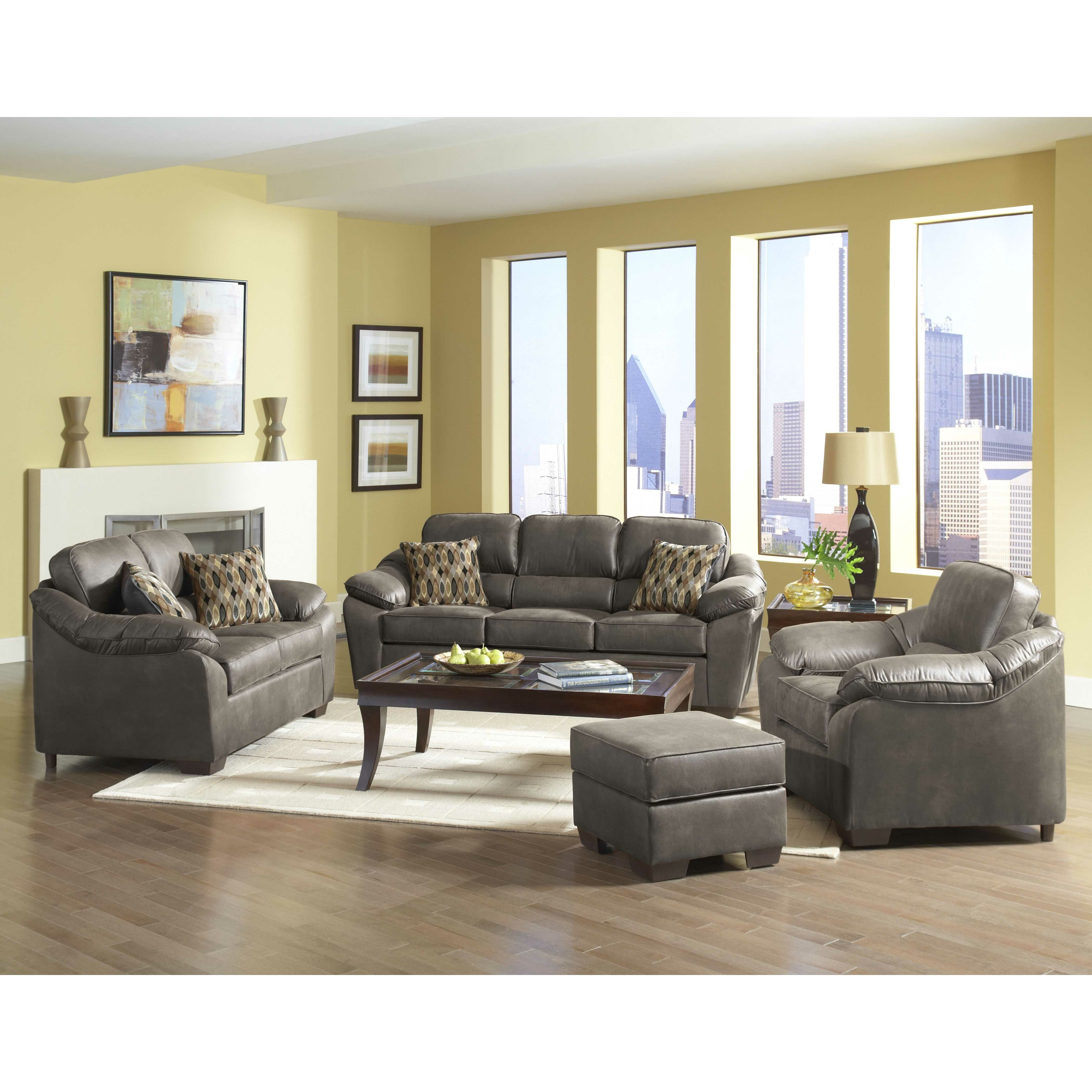 Living room furniture modern contemporary living room sets serta