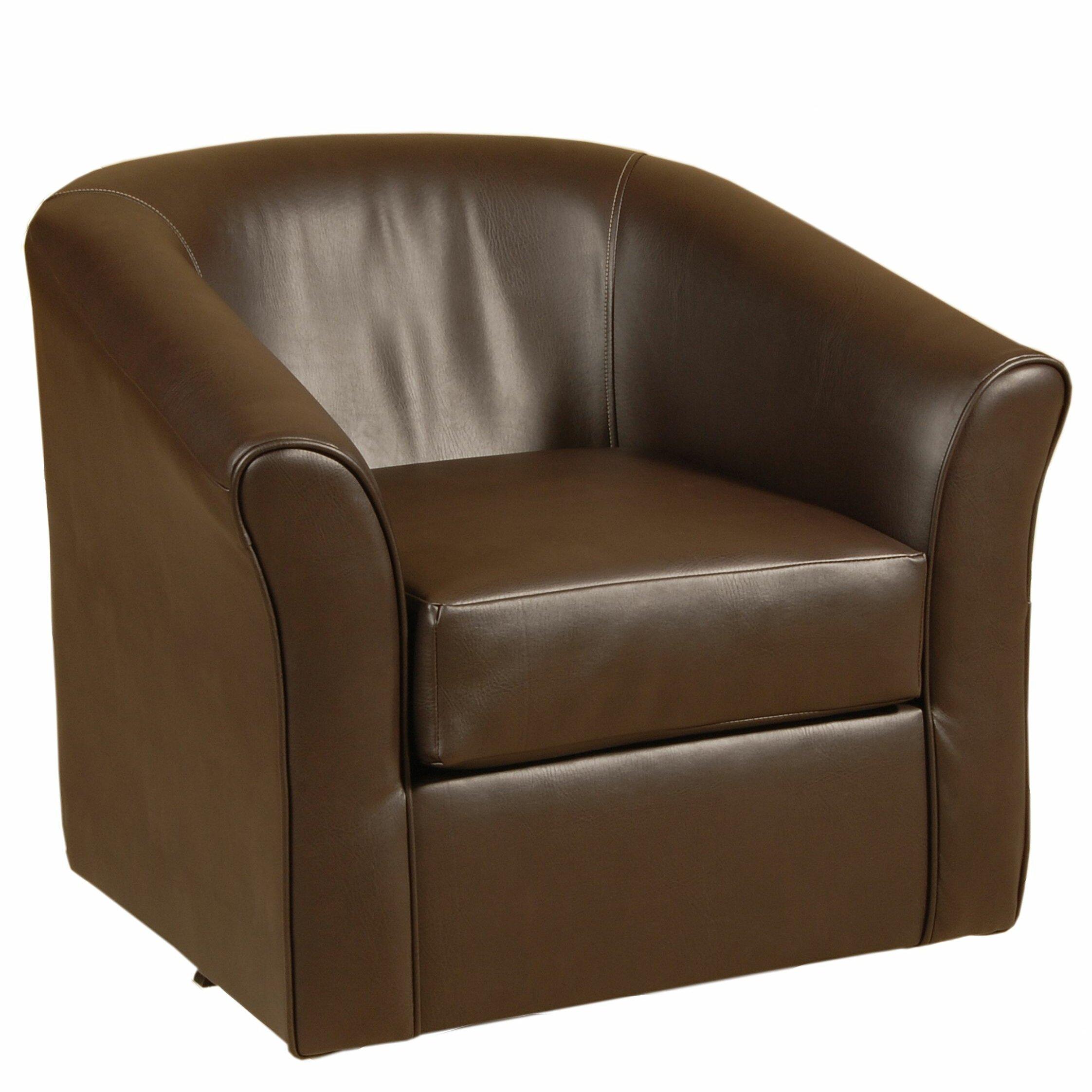 Serta Upholstery Swivel Tub Barrel Chair Amp Reviews Wayfair