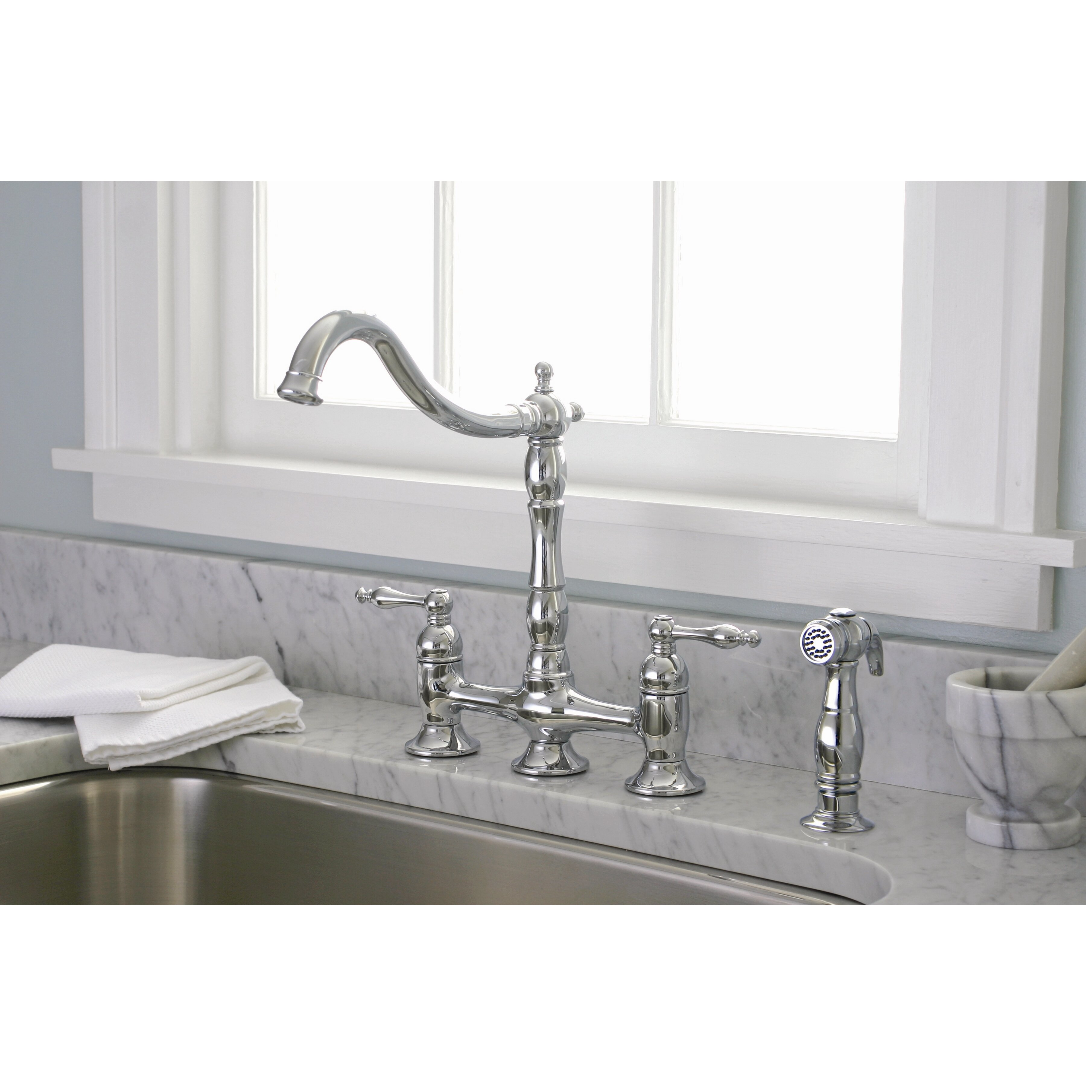 premier faucet charlestown two handle widespread bridge faucet