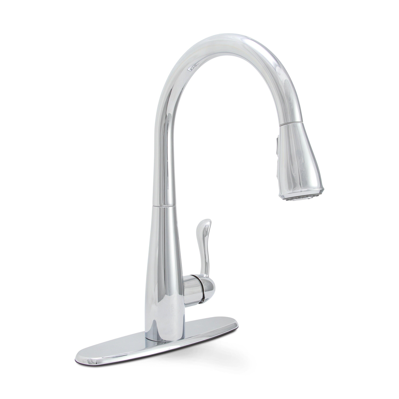 Delta Trinsic C2 AE Kitchen 15 Single Handle Pull Down Standard Kitchen Faucet DLT delta trinsic kitchen faucet Sanibel Single Handle Pull Down Kitchen Faucet