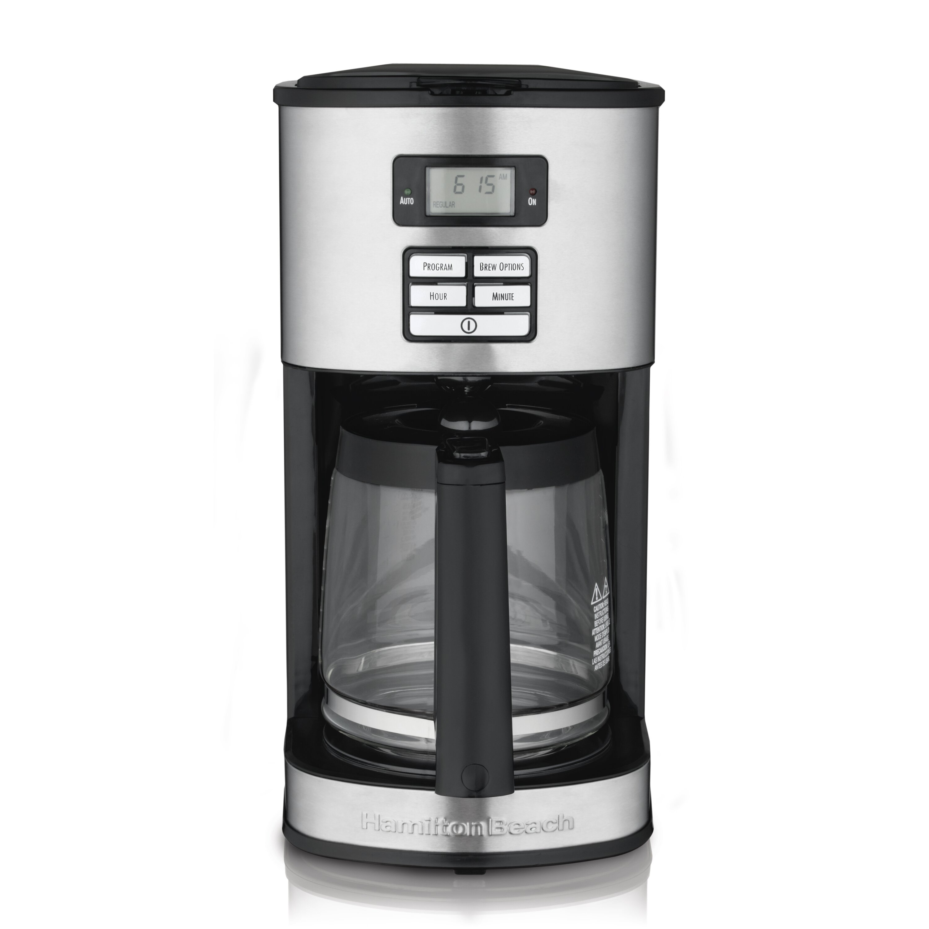 coffee makers machines you ll love wayfair 12 cup stainless steel coffee maker