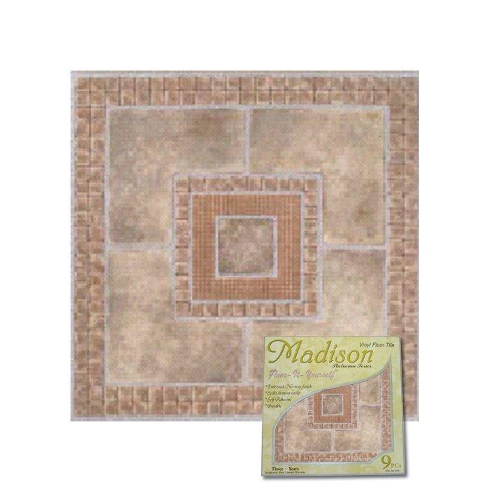 """Home Dynamix Vinyl Floor Tiles Home Dynamix Dynamix Vinyl Tile 12"""" x 12"""" Luxury Vinyl ..."""