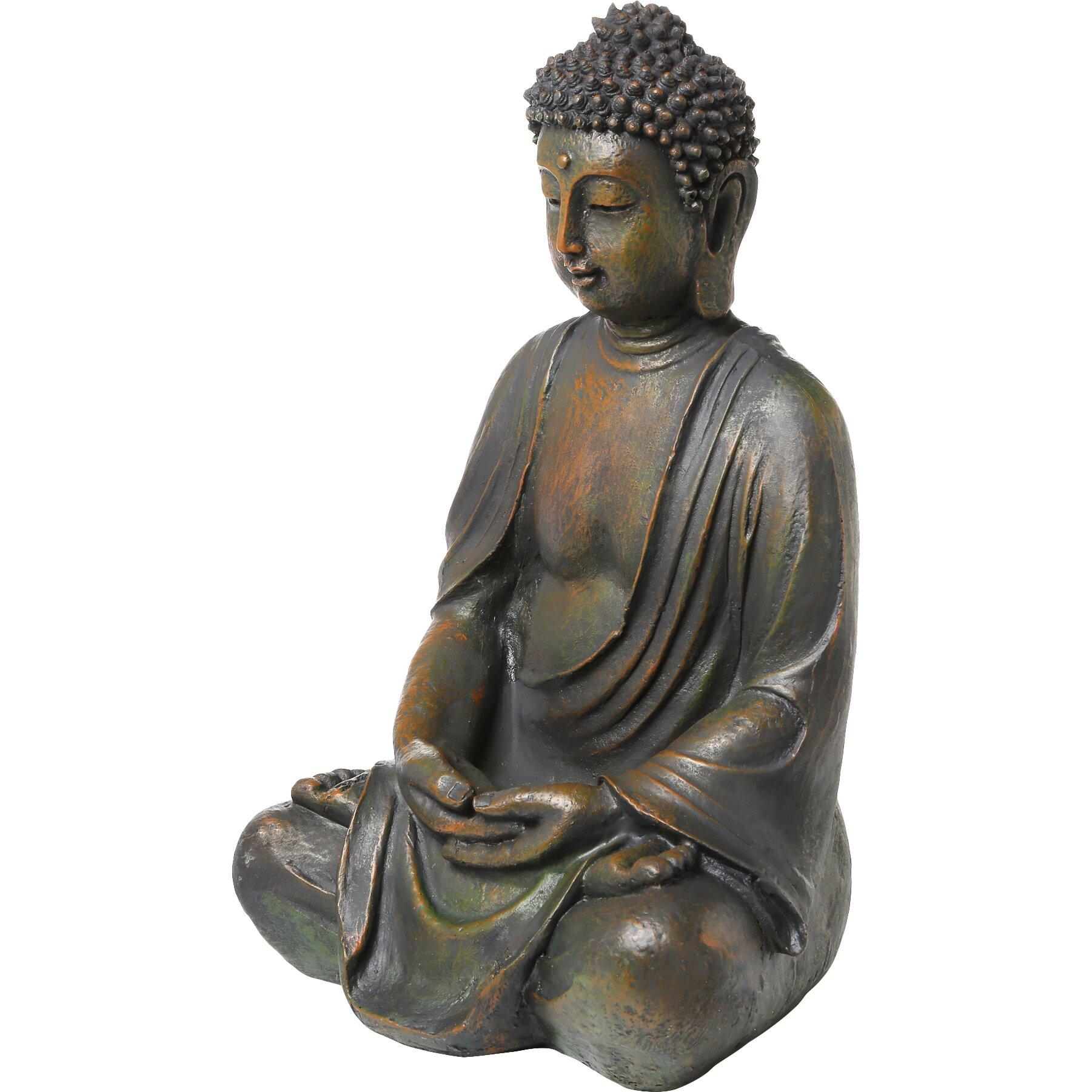 Alpine Buddha Garden Statue Reviews Wayfair