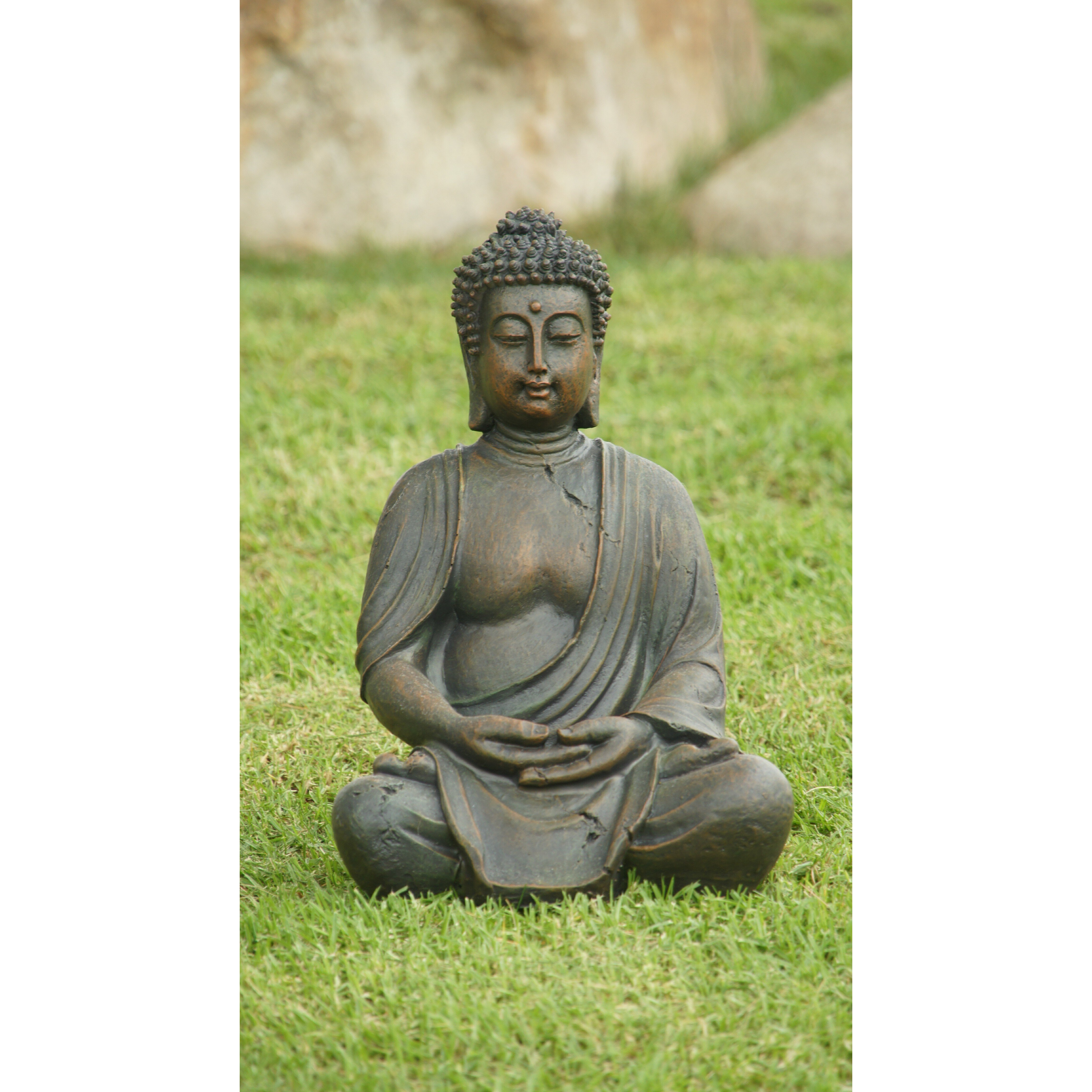 Alpine Buddha Garden Statue Reviews Wayfair