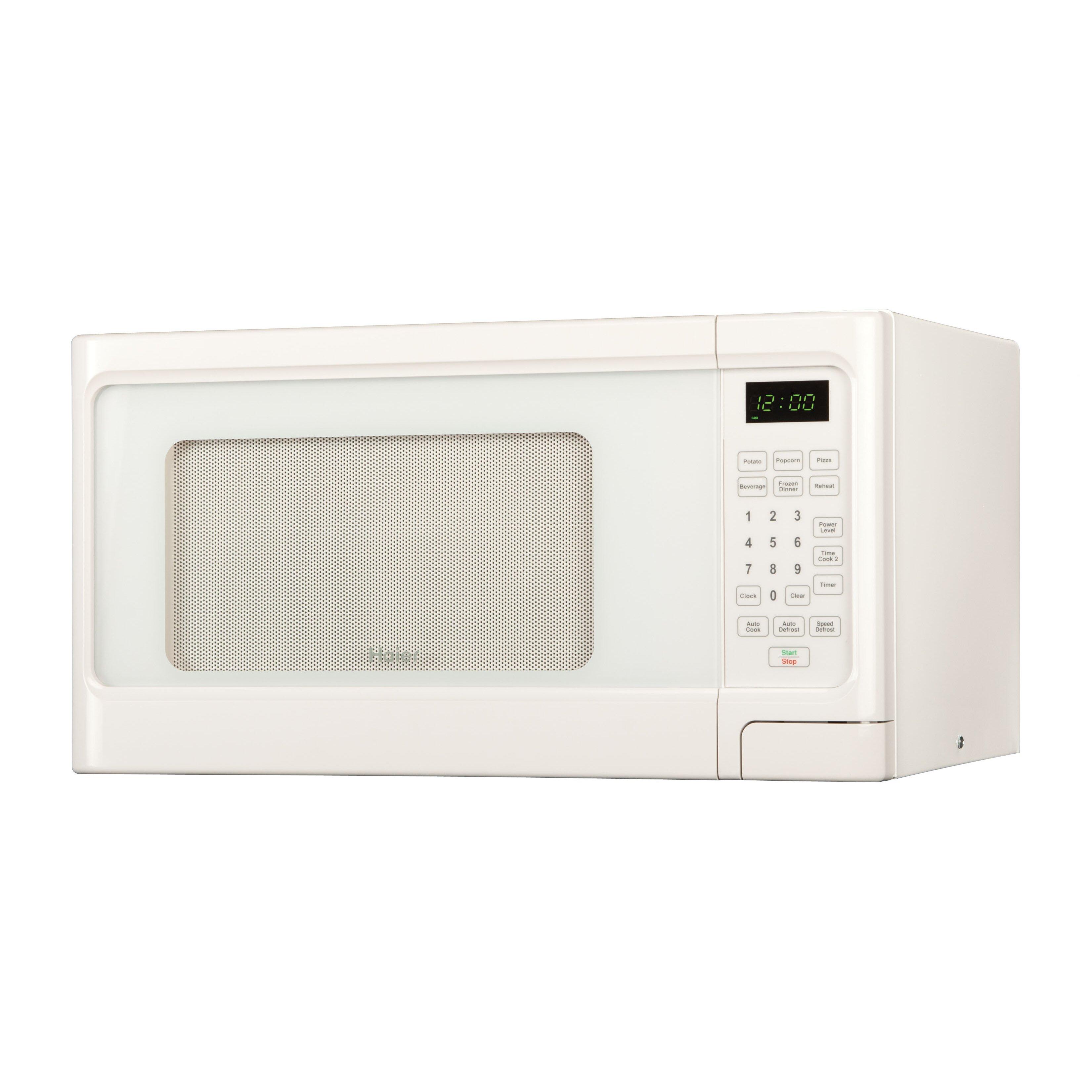 Haier 1.1 Cu. Ft 1000W Countertop Microwave & Reviews Wayfair