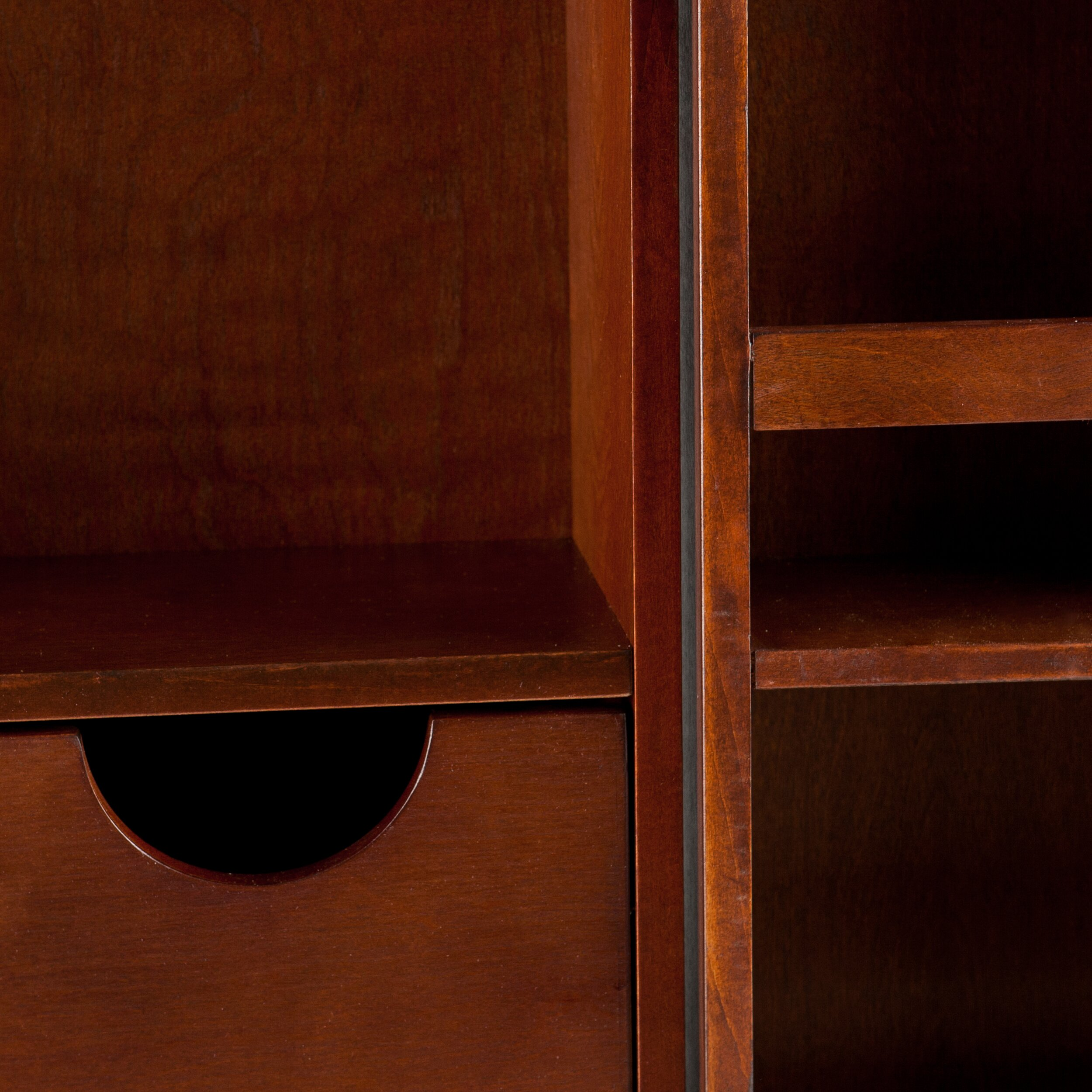 wildon home r boswell bar cabinet with wine storage reviews