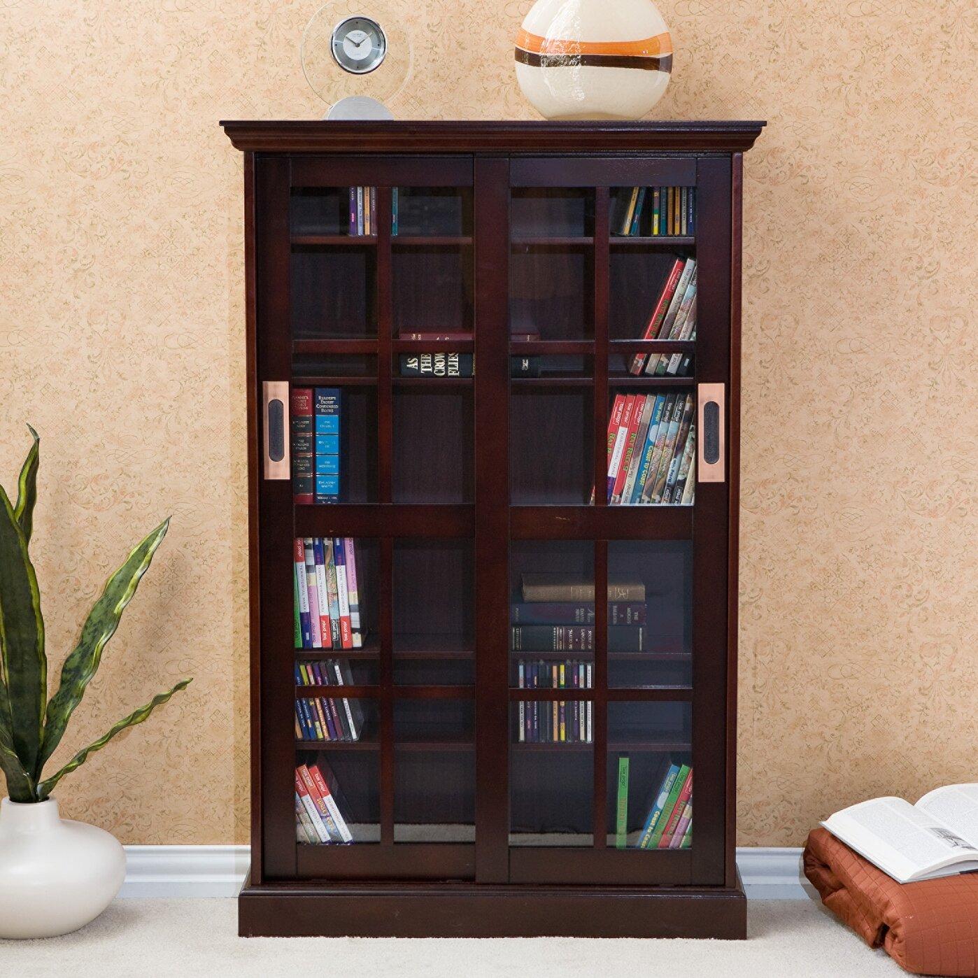 Wildon Home ® Broxton Sliding Door Media Cabinet & Reviews